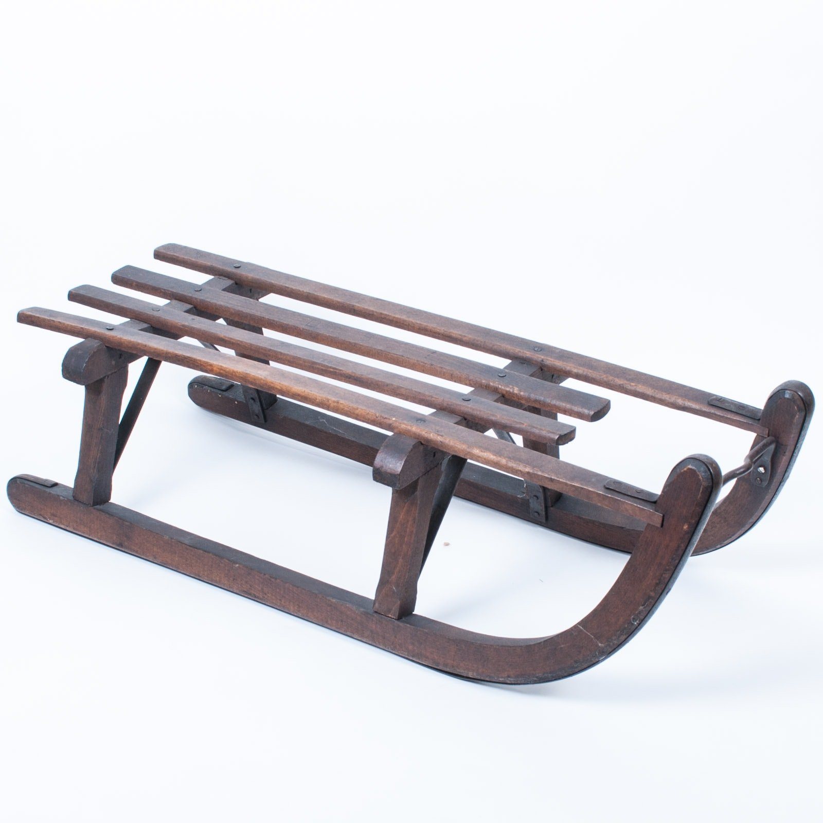 Vintage Wood Snow Sled