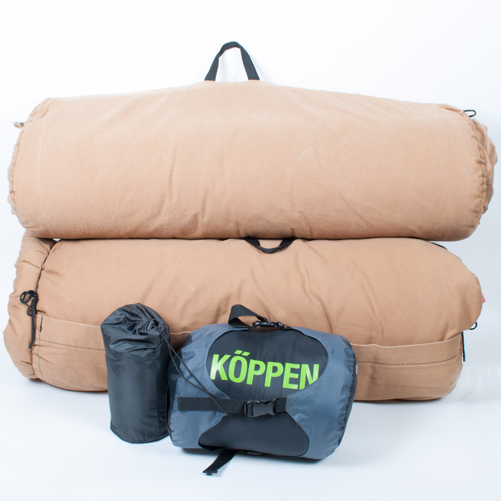 "Pair of Coleman DuPont ""Hollofil 808"" and Koppen ""Viggo"" JR Sleeping Bags"