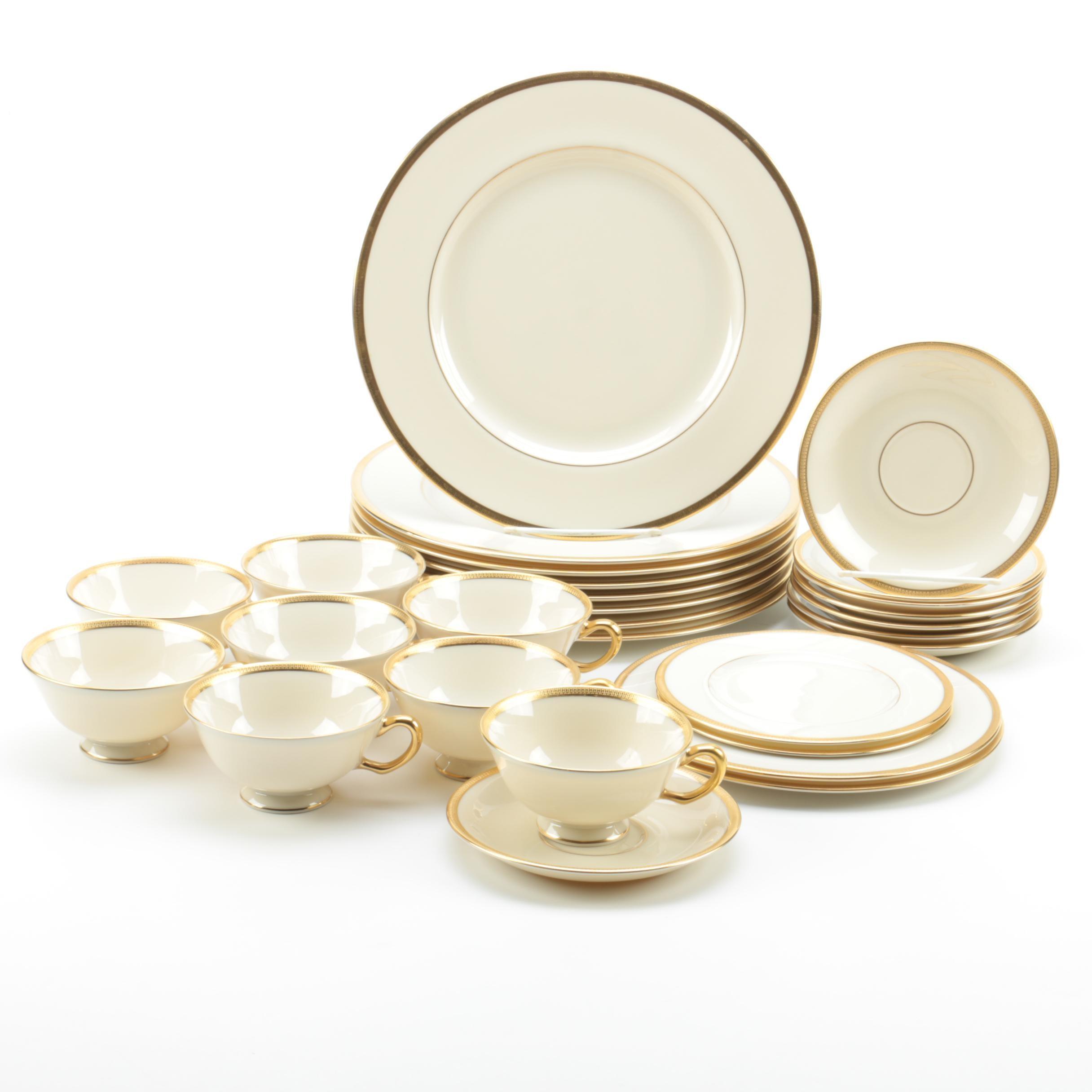 "Lenox ""Tuxedo"" Tableware"