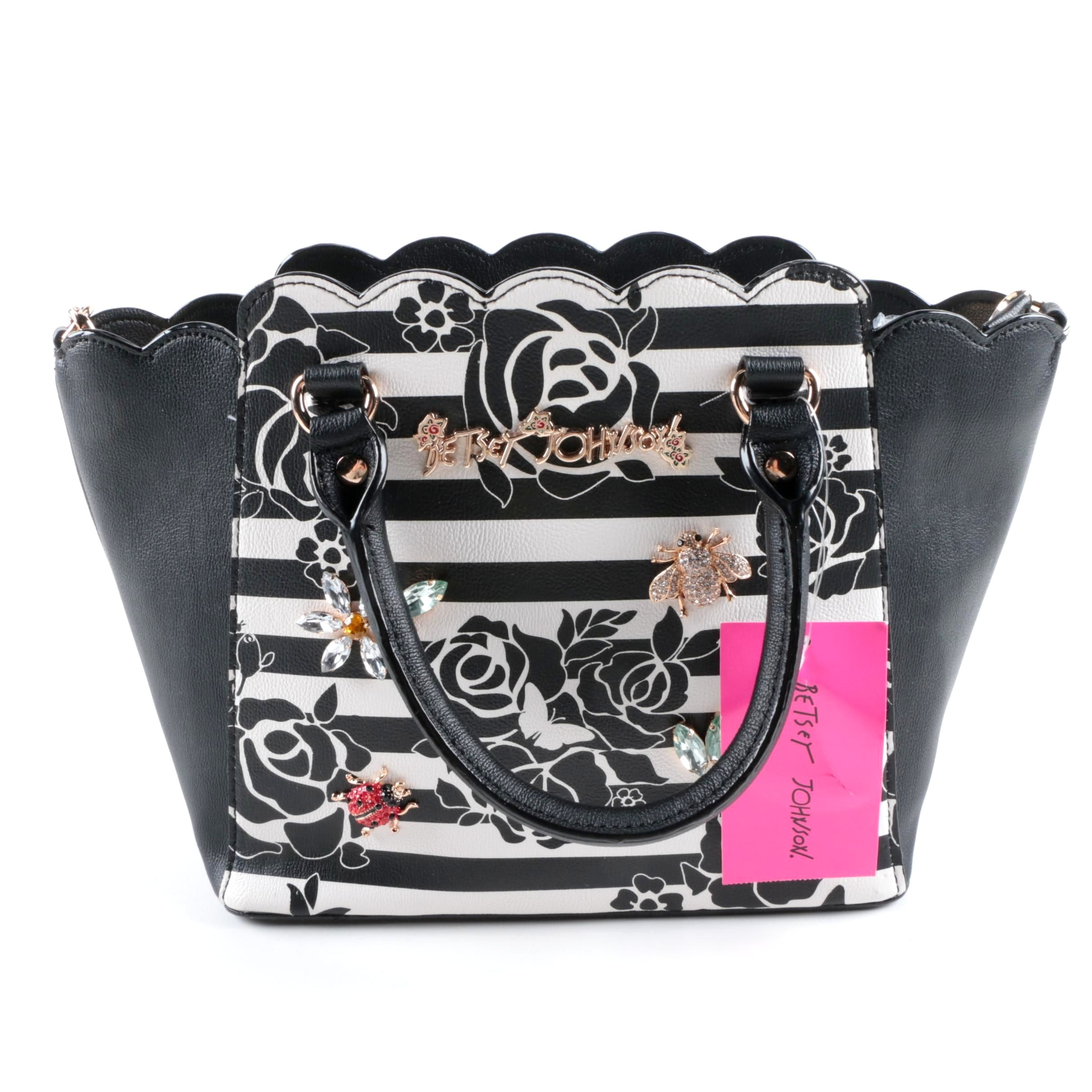 Betsey Johnson Glam Garden Satchel