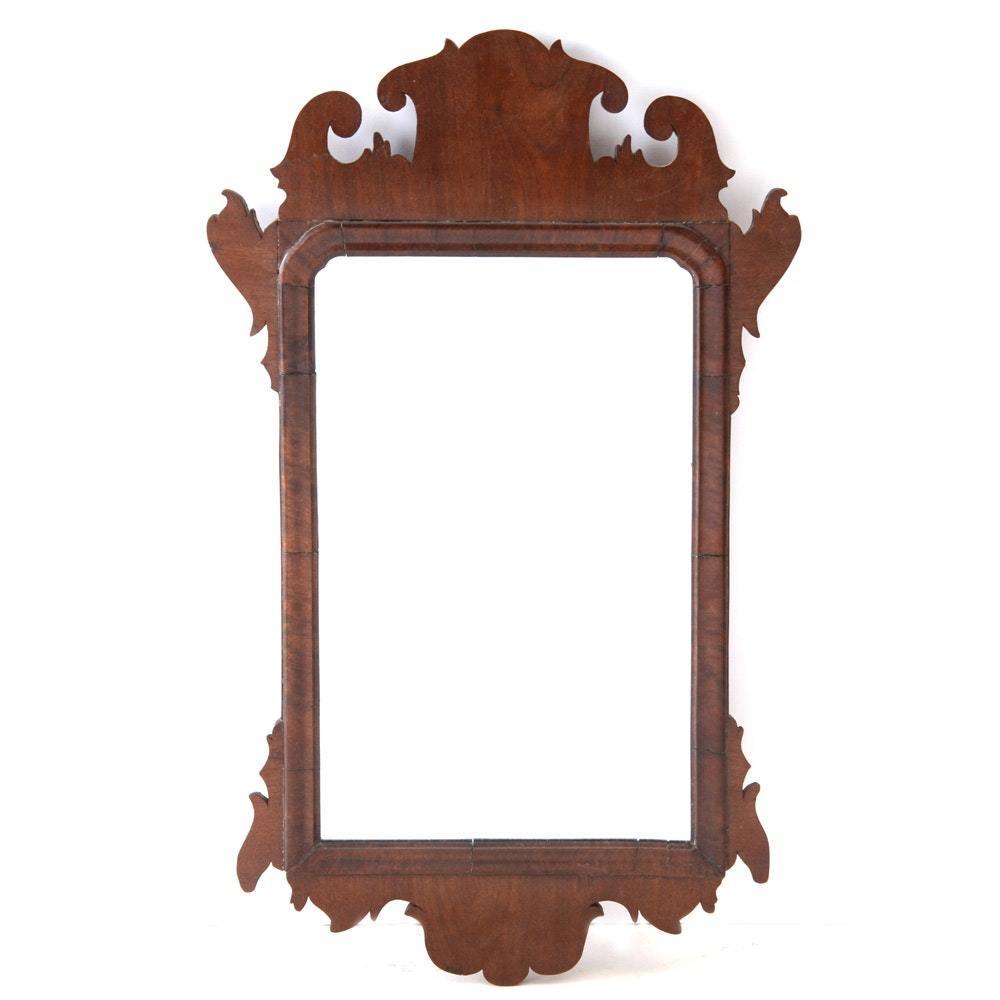Antique Chippendale Accent Mirror