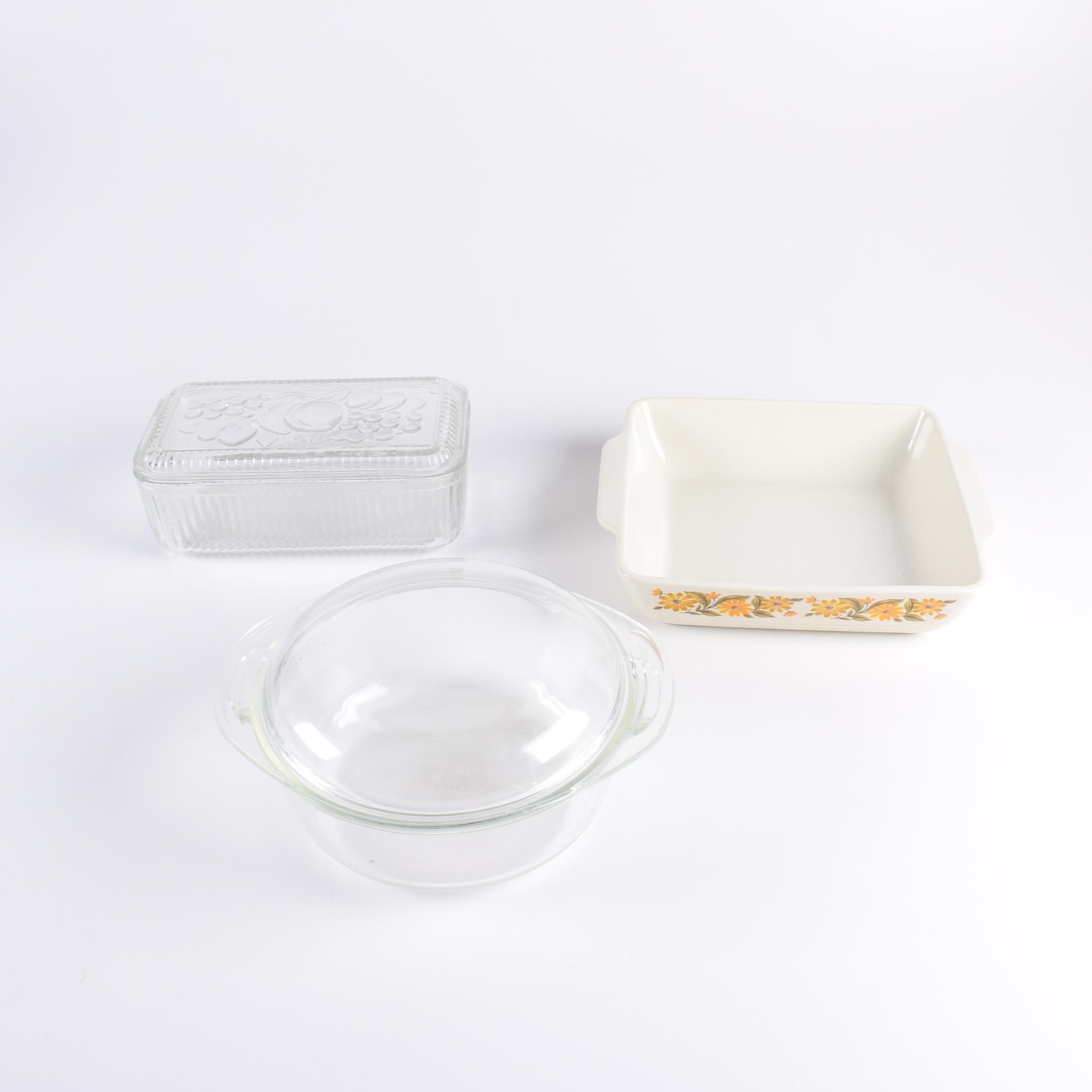 Pyrex and Other Baking Dishes