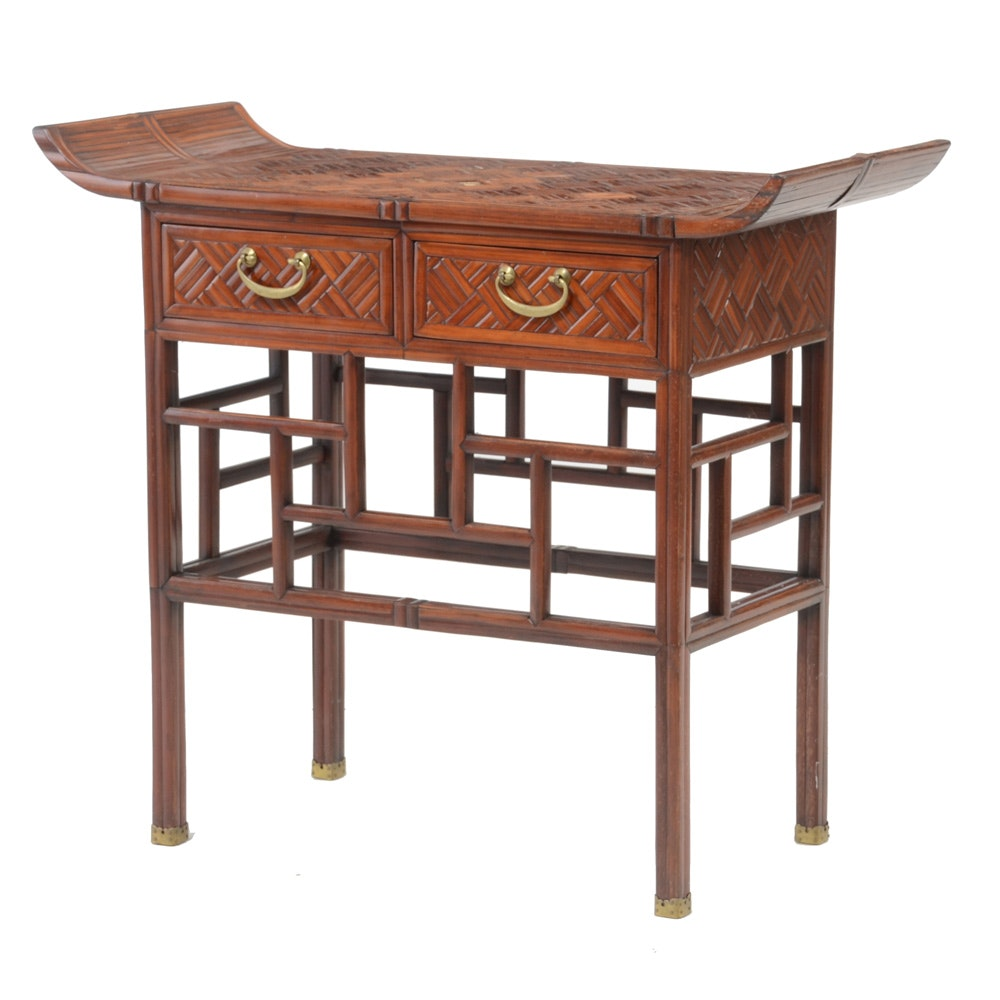 Vintage Asian Style Accent Table