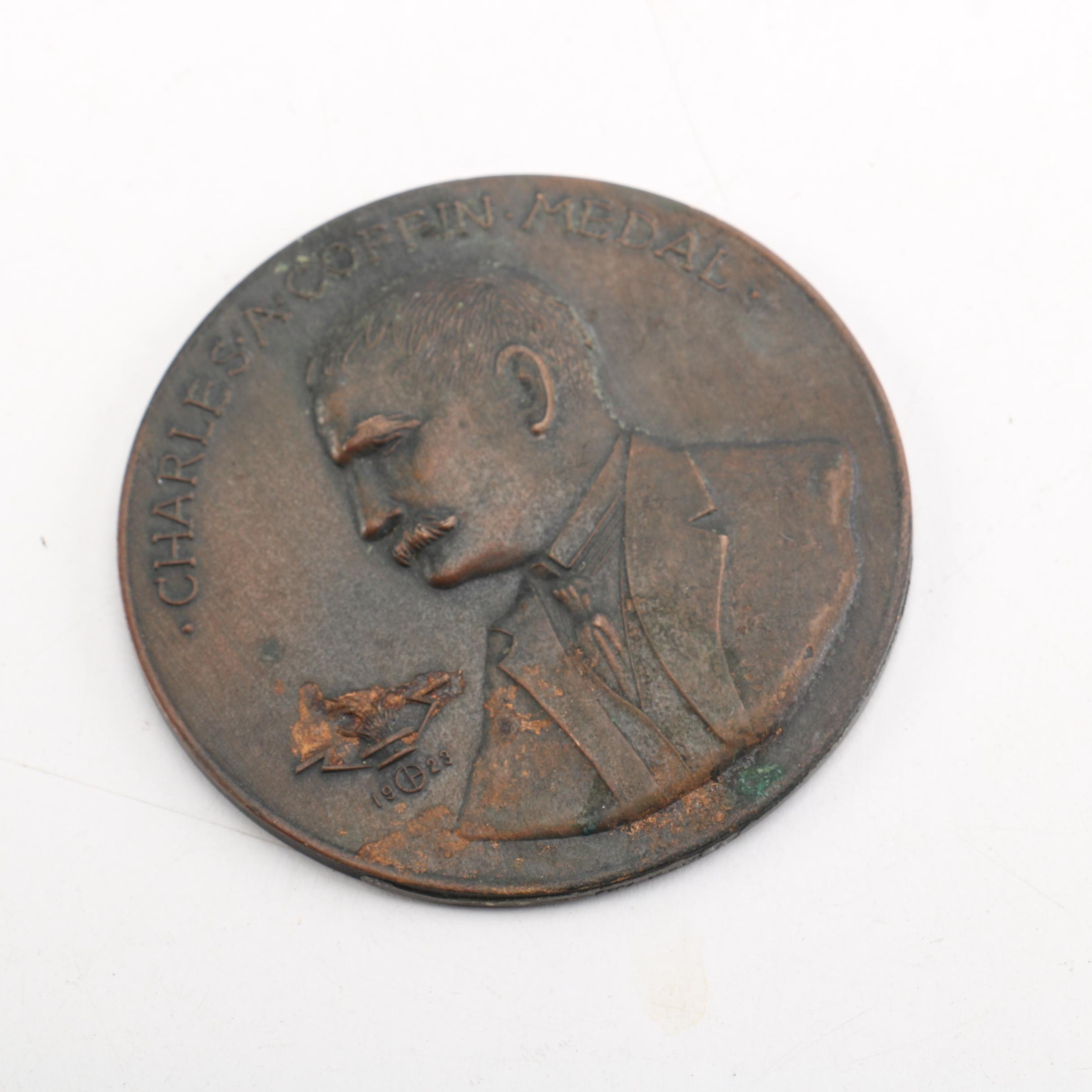 1948 Charles A. Coffin Medal