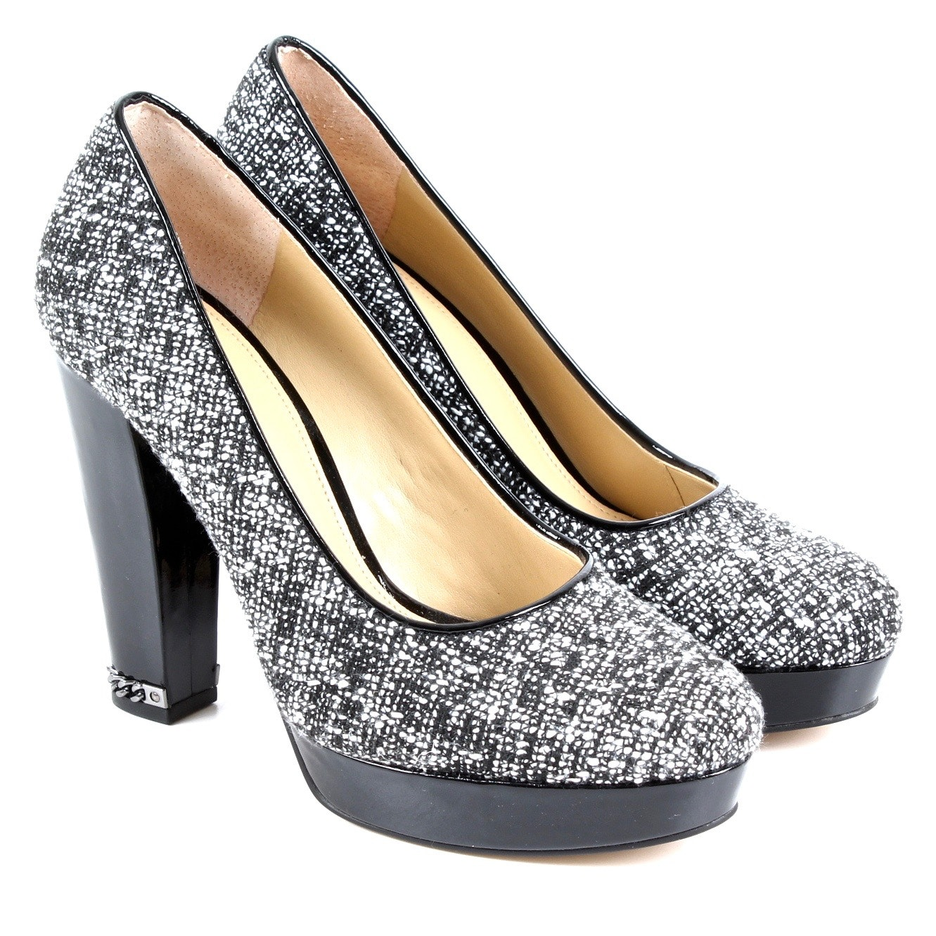 MICHAEL Michael Kors Tweed Sabrina Platform Pumps