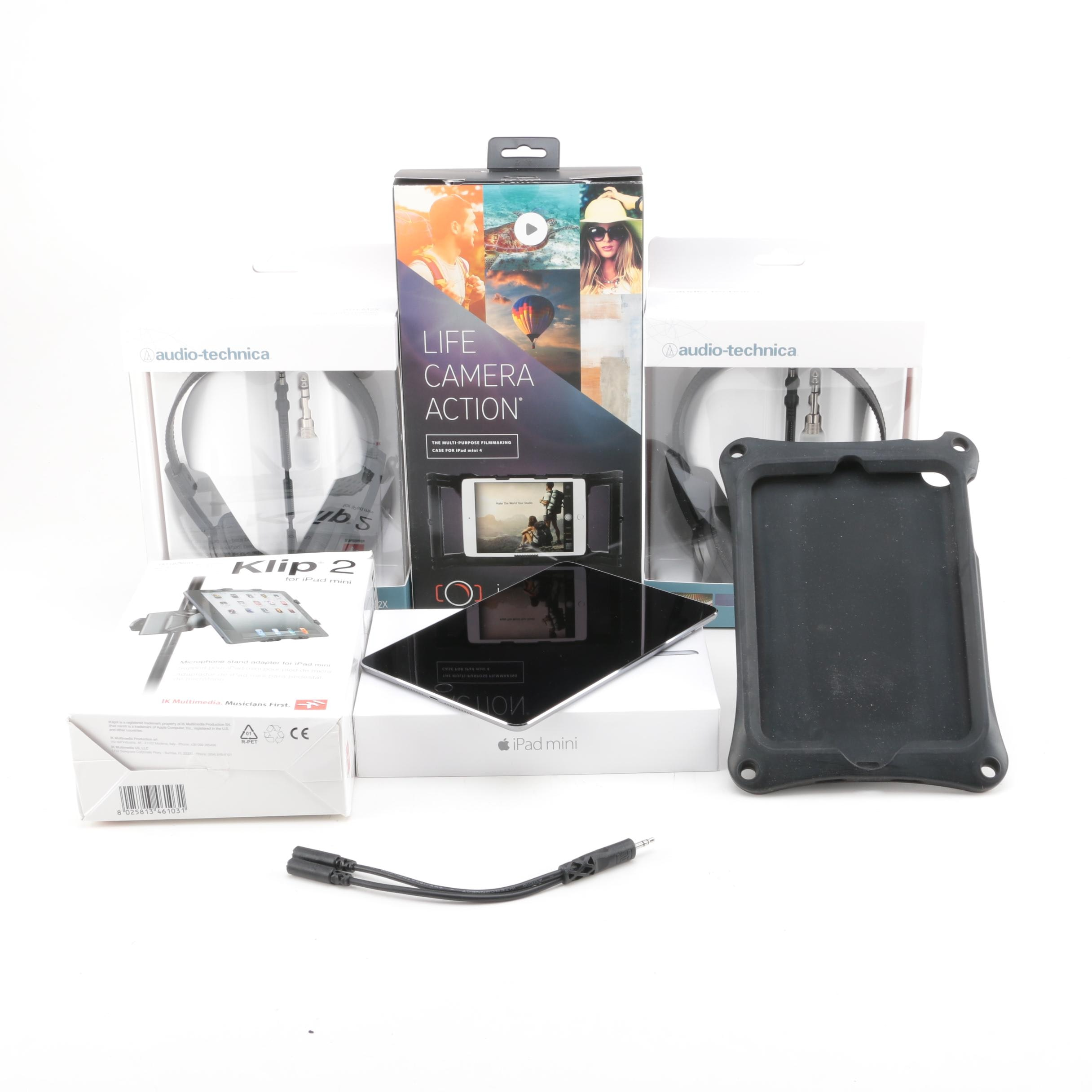 iPad Mini with iKlip 2 and Accessories
