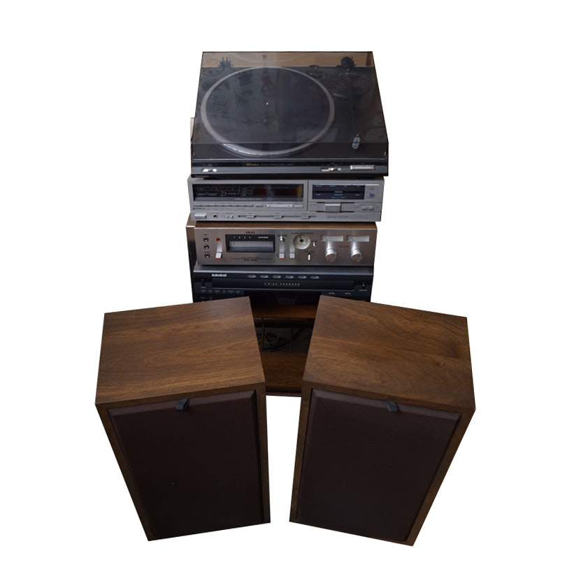 Technics, Other Stereo Components