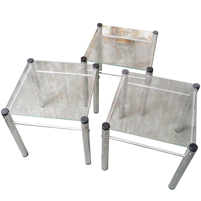 Set of Contemporary Side Tables