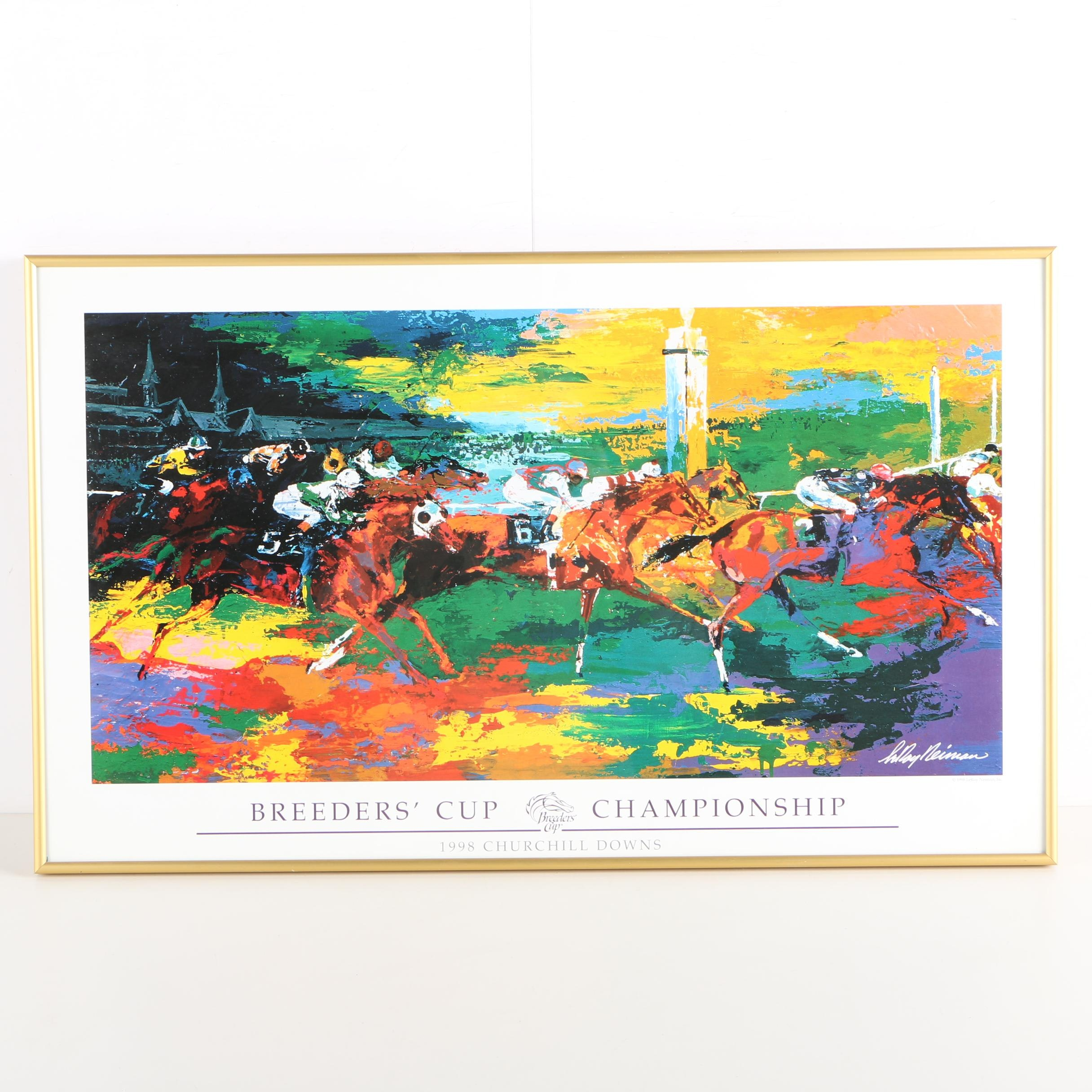 Giclee After LeRoy Neiman Breeder's Cup Championship Poster