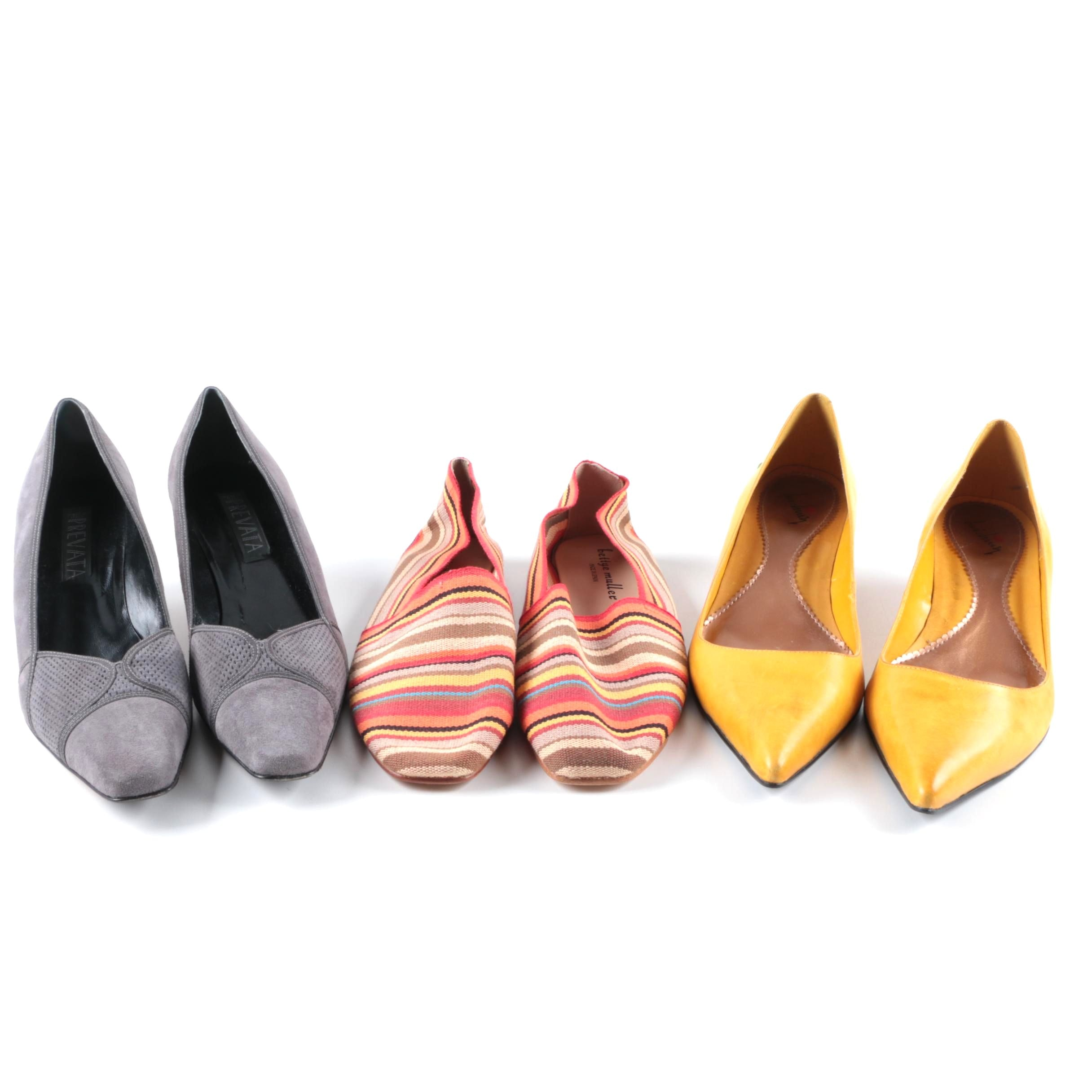 Women's Pumps and Espadrilles Including Prevata and Bettye Muller