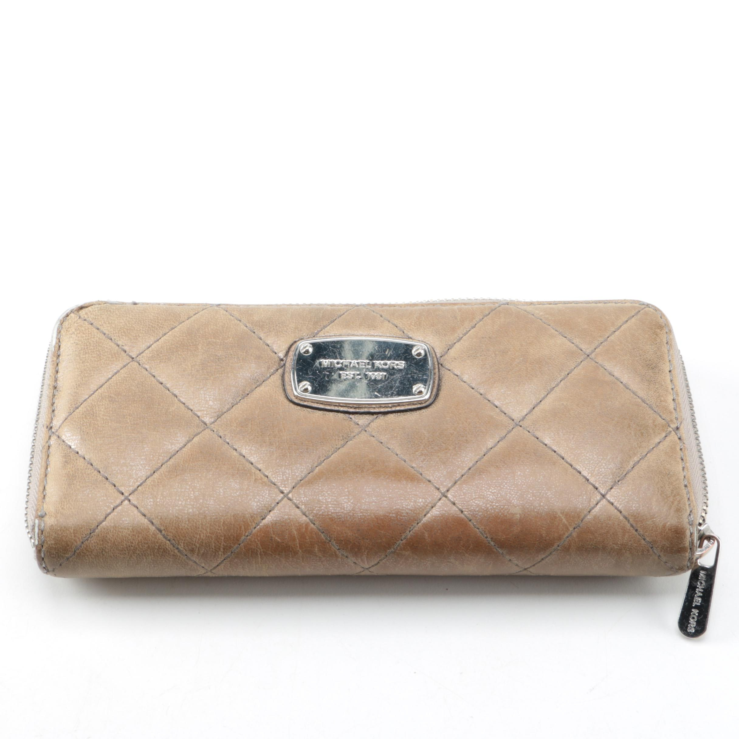 Michael Kors Quilted Leather Wallet
