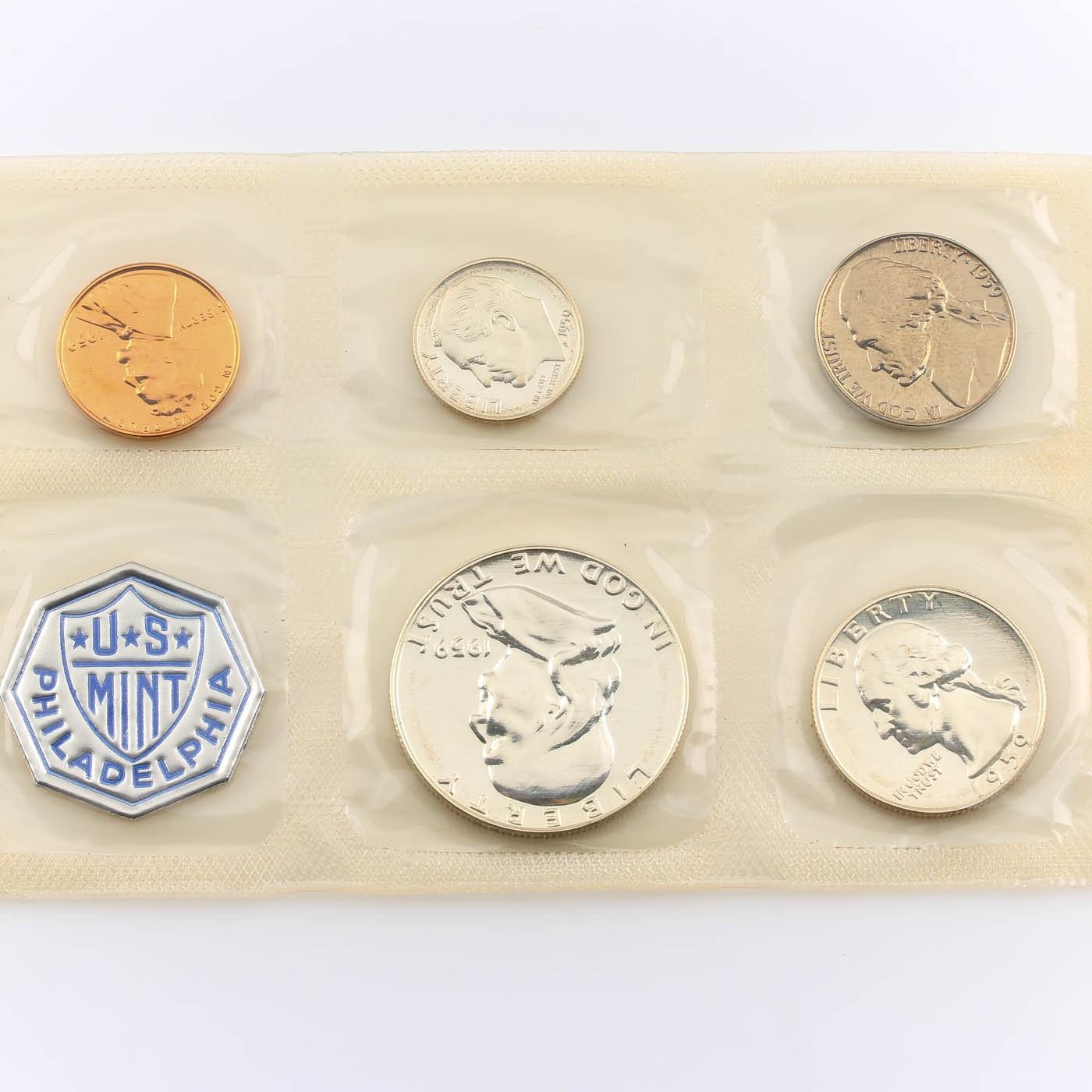 1959 U.S. Philadelphia Mint Proof Set