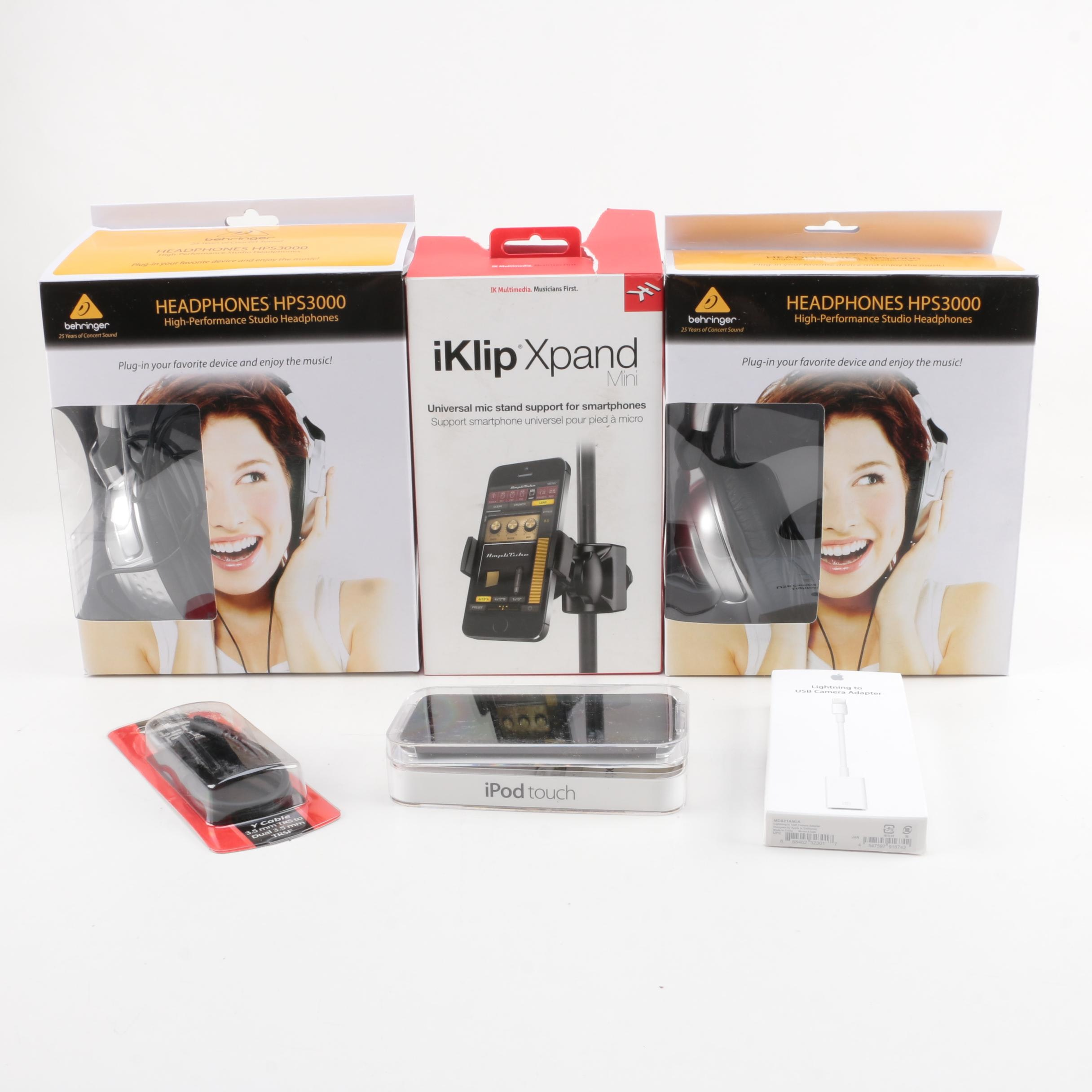 iPod Touch with Original Packaging and Accessories