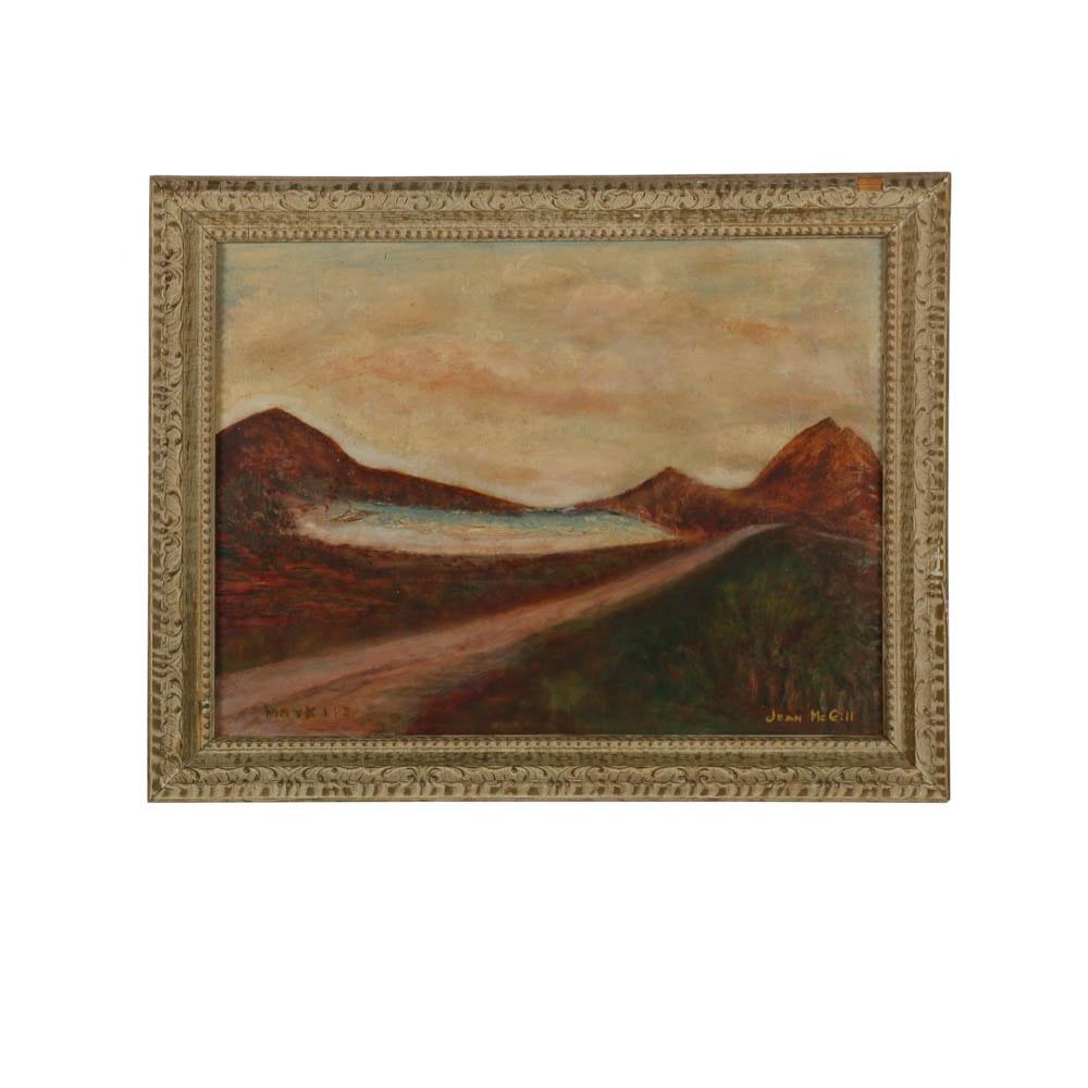 "Jean McGill Oil Painting ""Mark 1:3"""