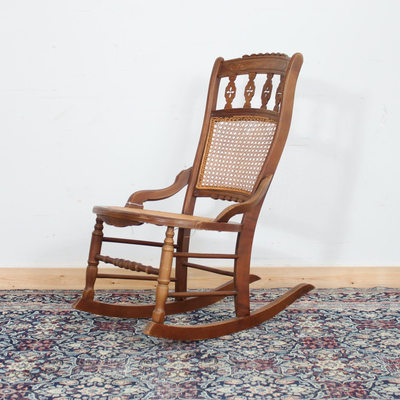 Vintage Victorian Style Rocking Chair
