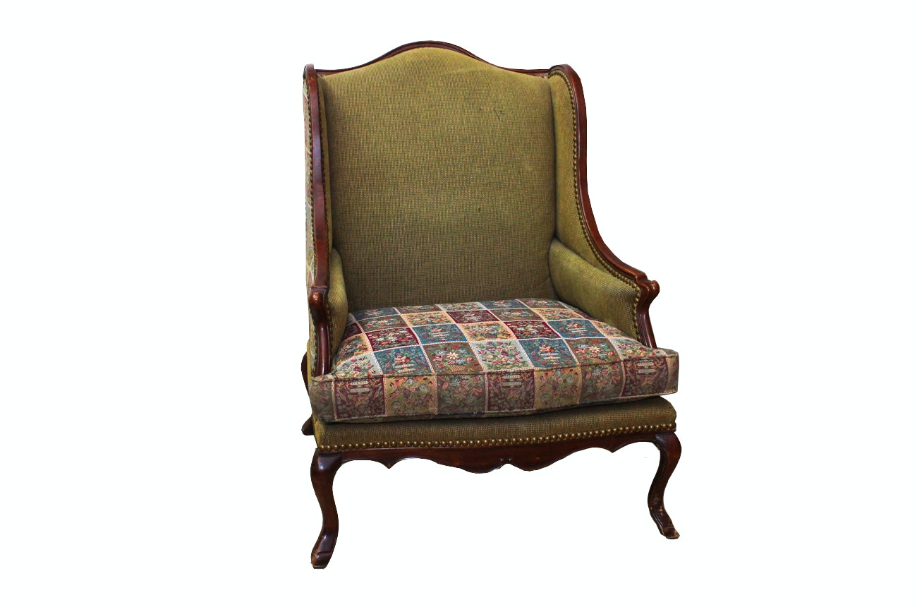 Oversized Upholstered Armchair by Century Furniture