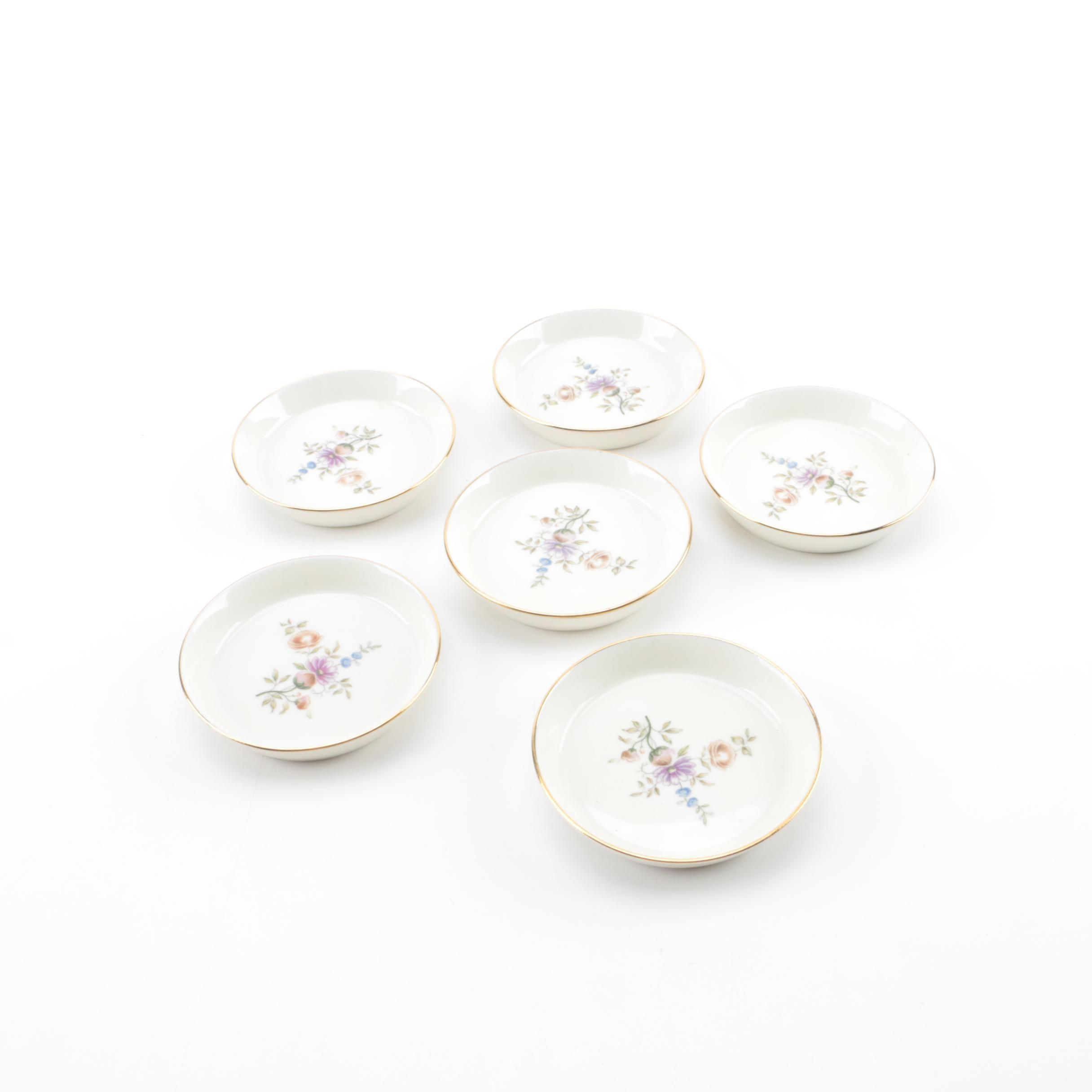 Mid-Century Royal Copenhagen Porcelain Condiment Dishes