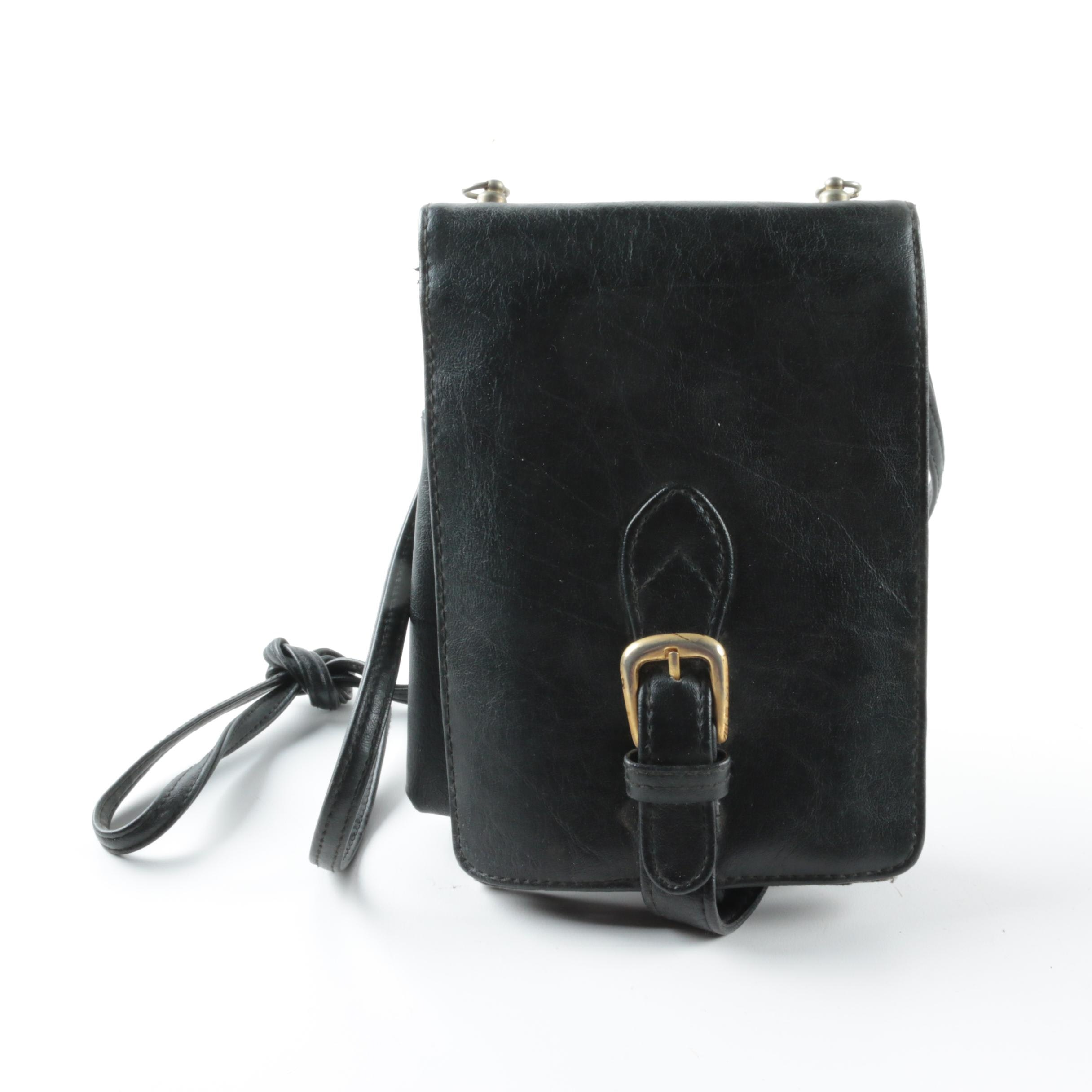 Rosetti Black Leather Bag