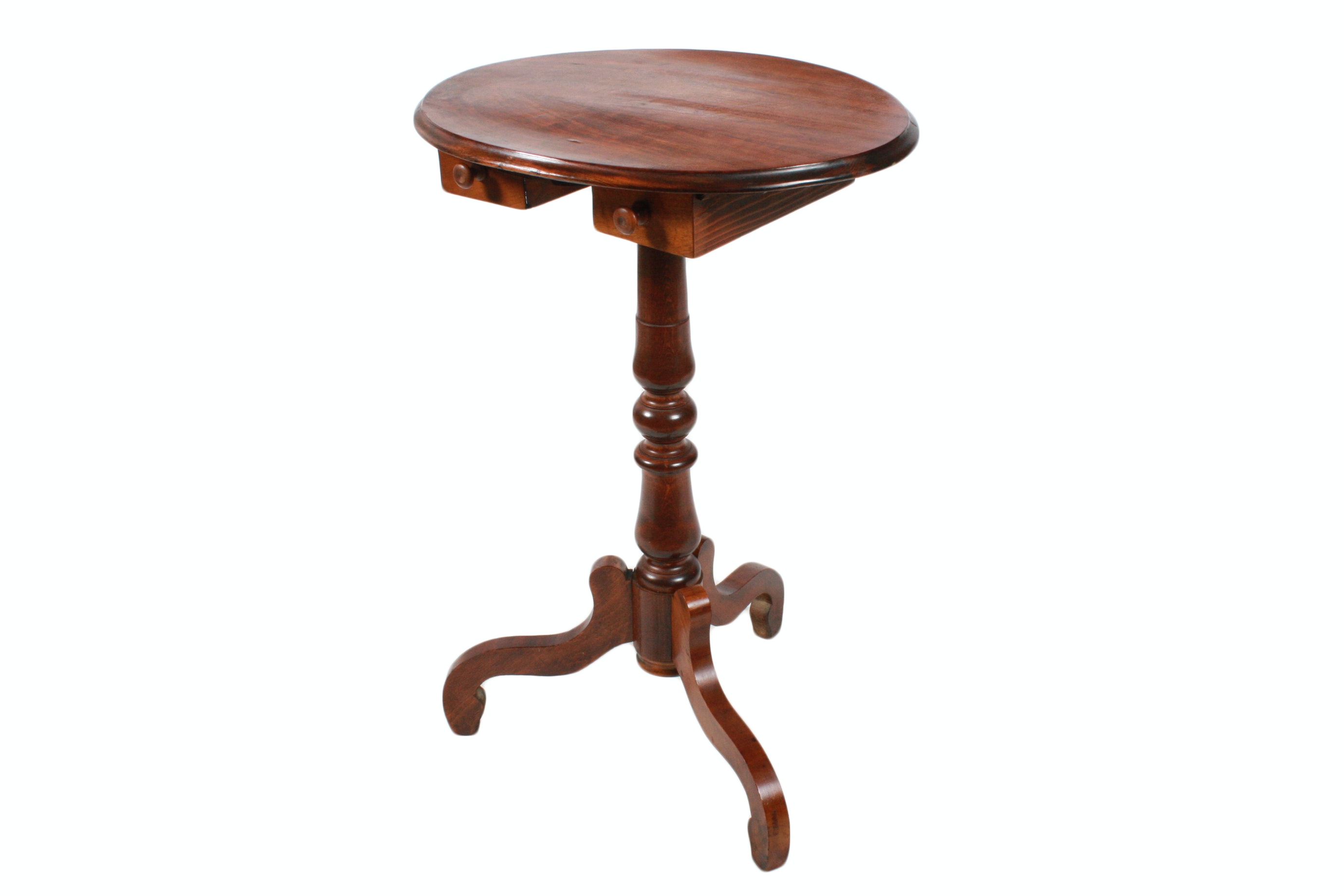 Vintage Regency Style Mahogany End Table