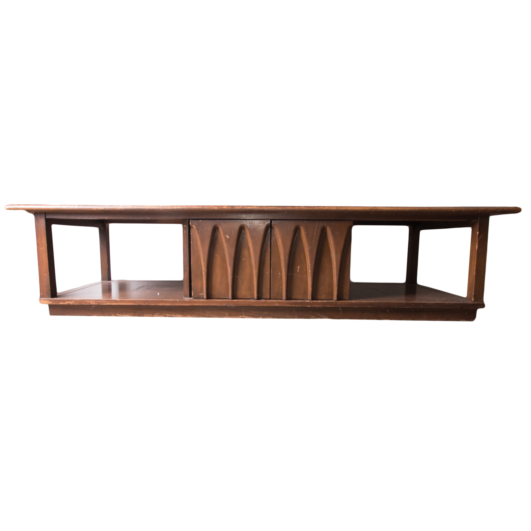 Mid Century Modern Low Console Table EBTH
