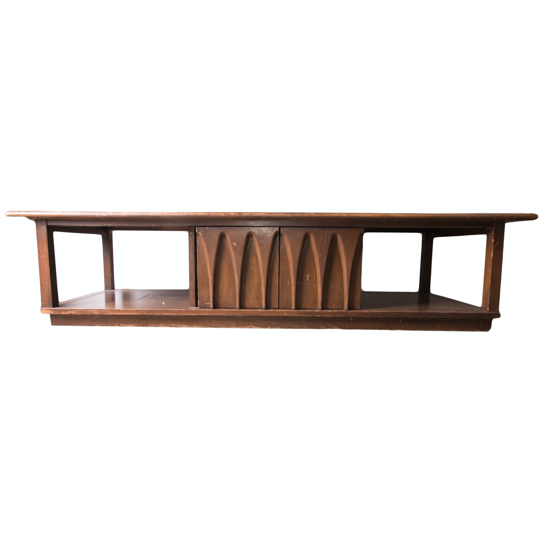 Mid Century Modern Low Console Table ...