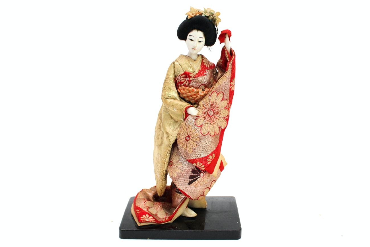 Vintage Japanese Porcelain Doll