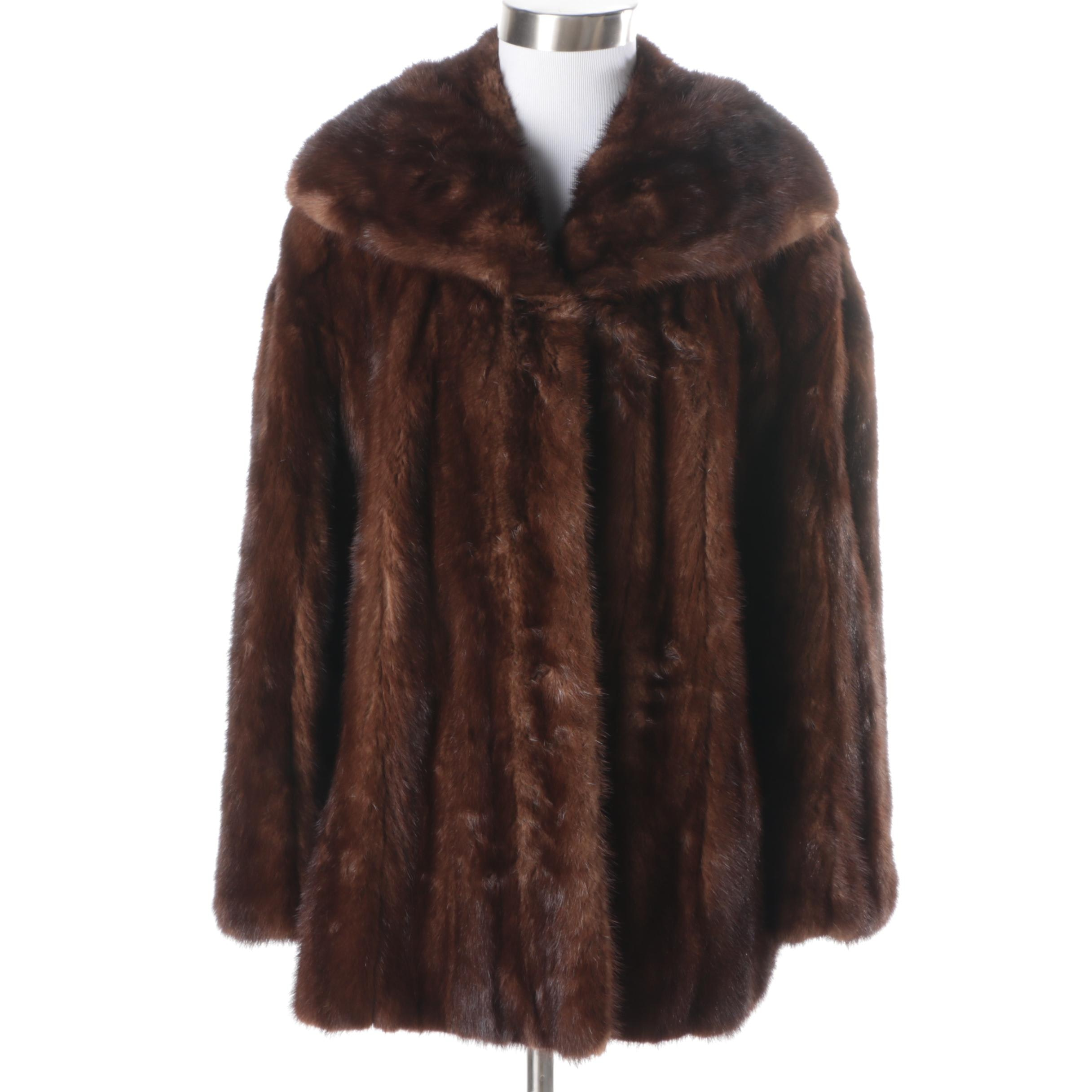 Women's E. Heinemann Mink Fur Coat