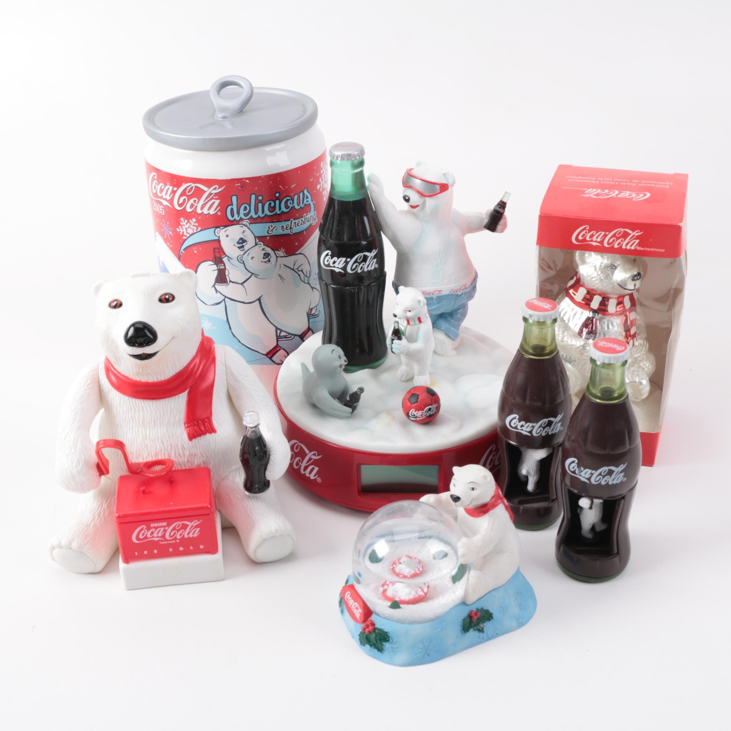 Coca-Cola Polar Bear Memorabilia