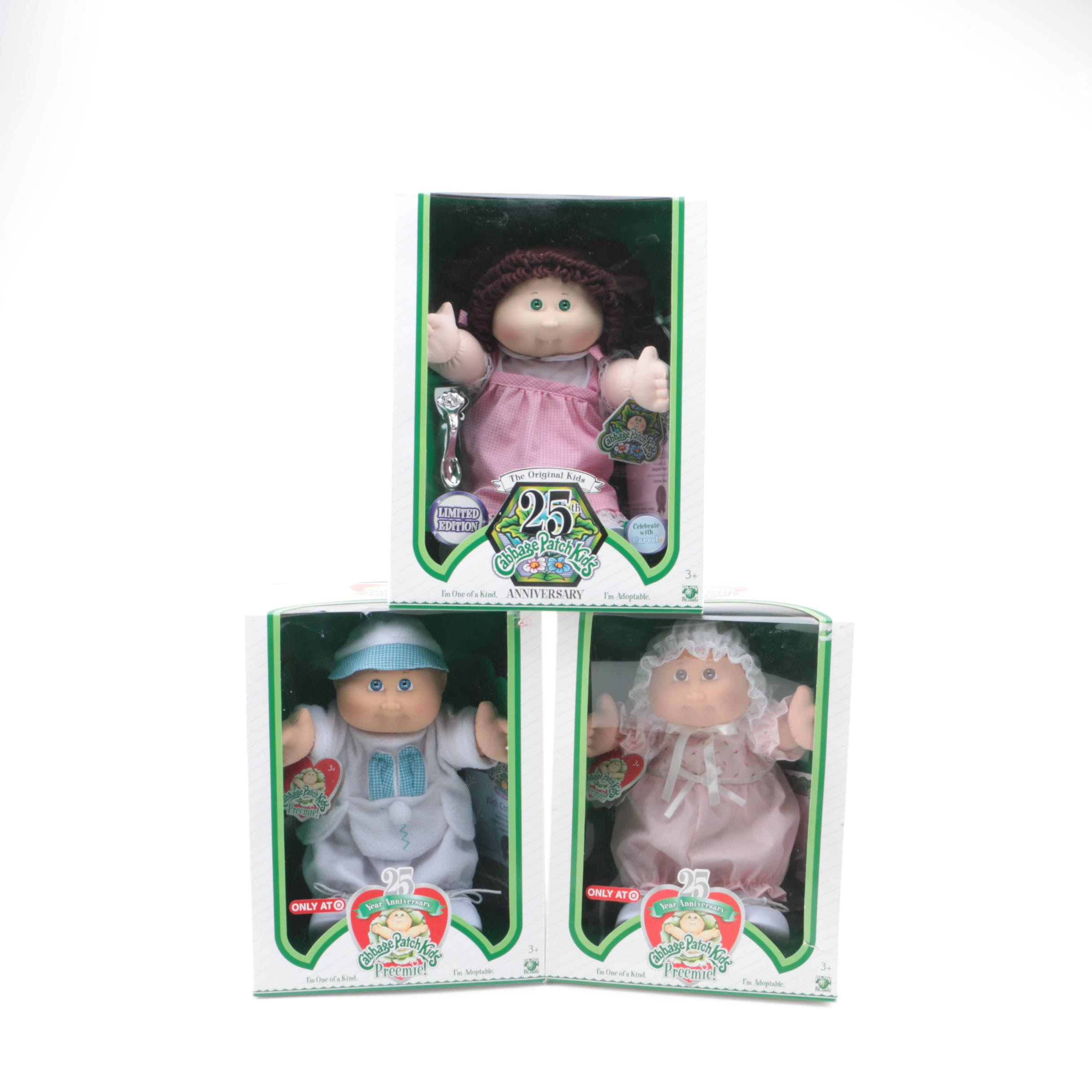 """25th Anniversary """"Cabbage Patch Kids"""" Dolls"""