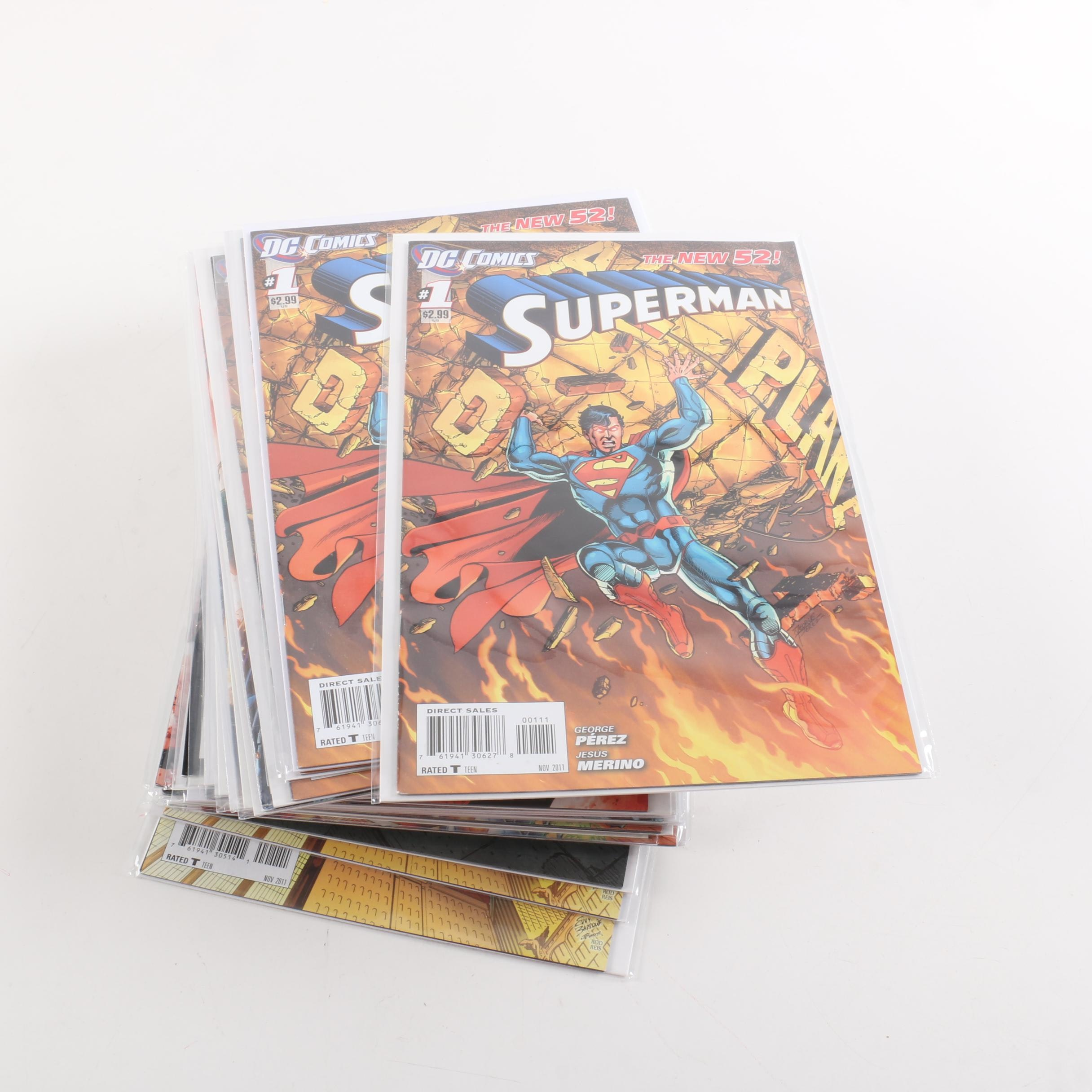"""Modern Age DC  """"New 52"""" First Issues"""