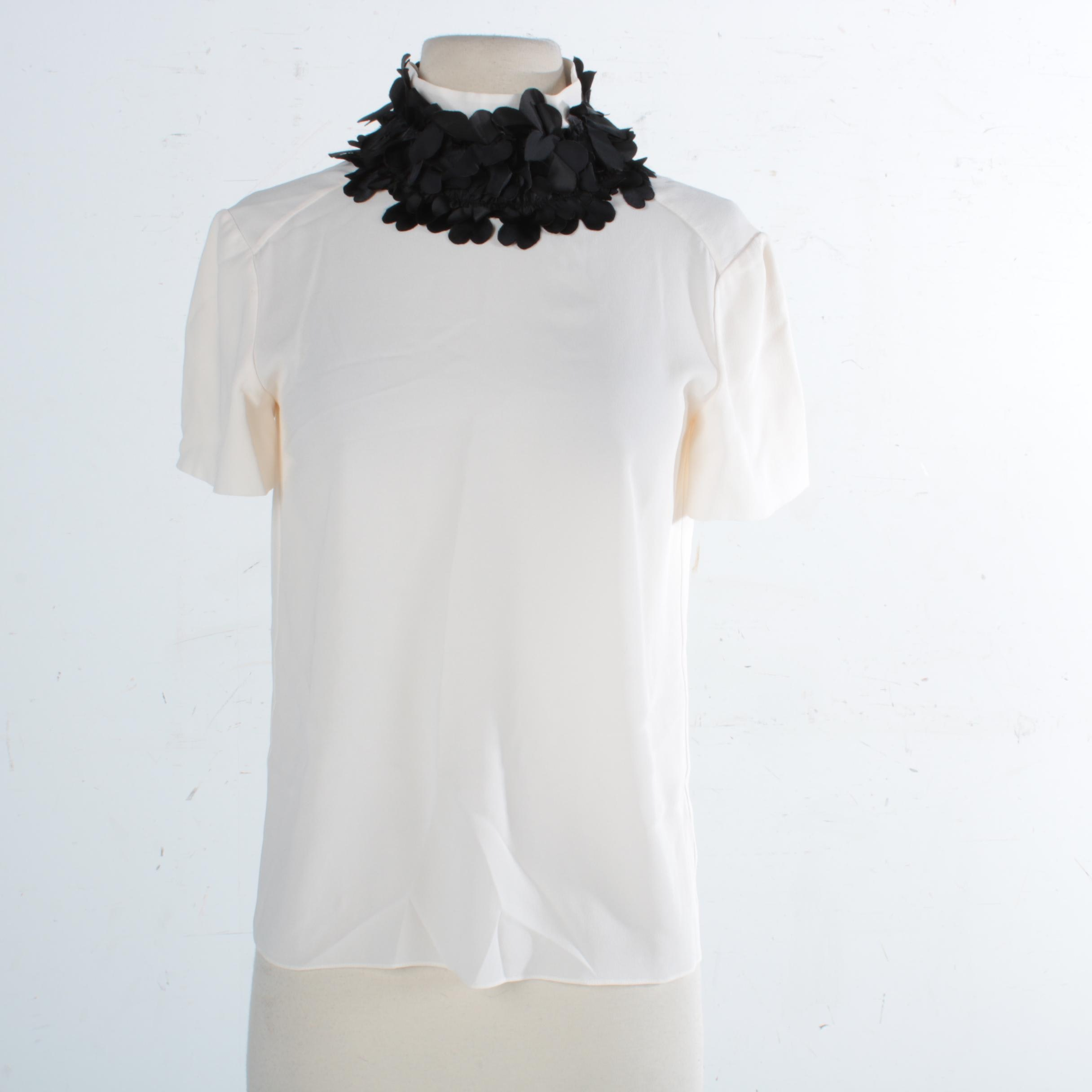 Chanel Silk Crepe Blouse