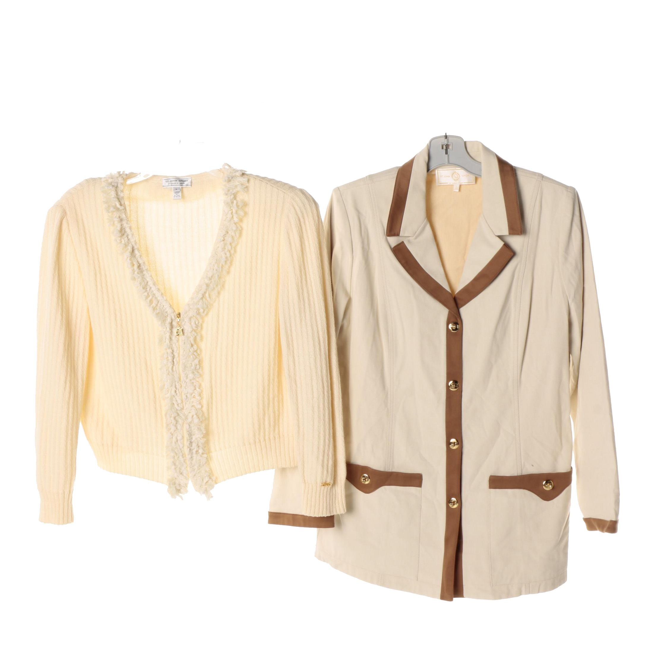 St.John Sport By Marie Gray Jackets