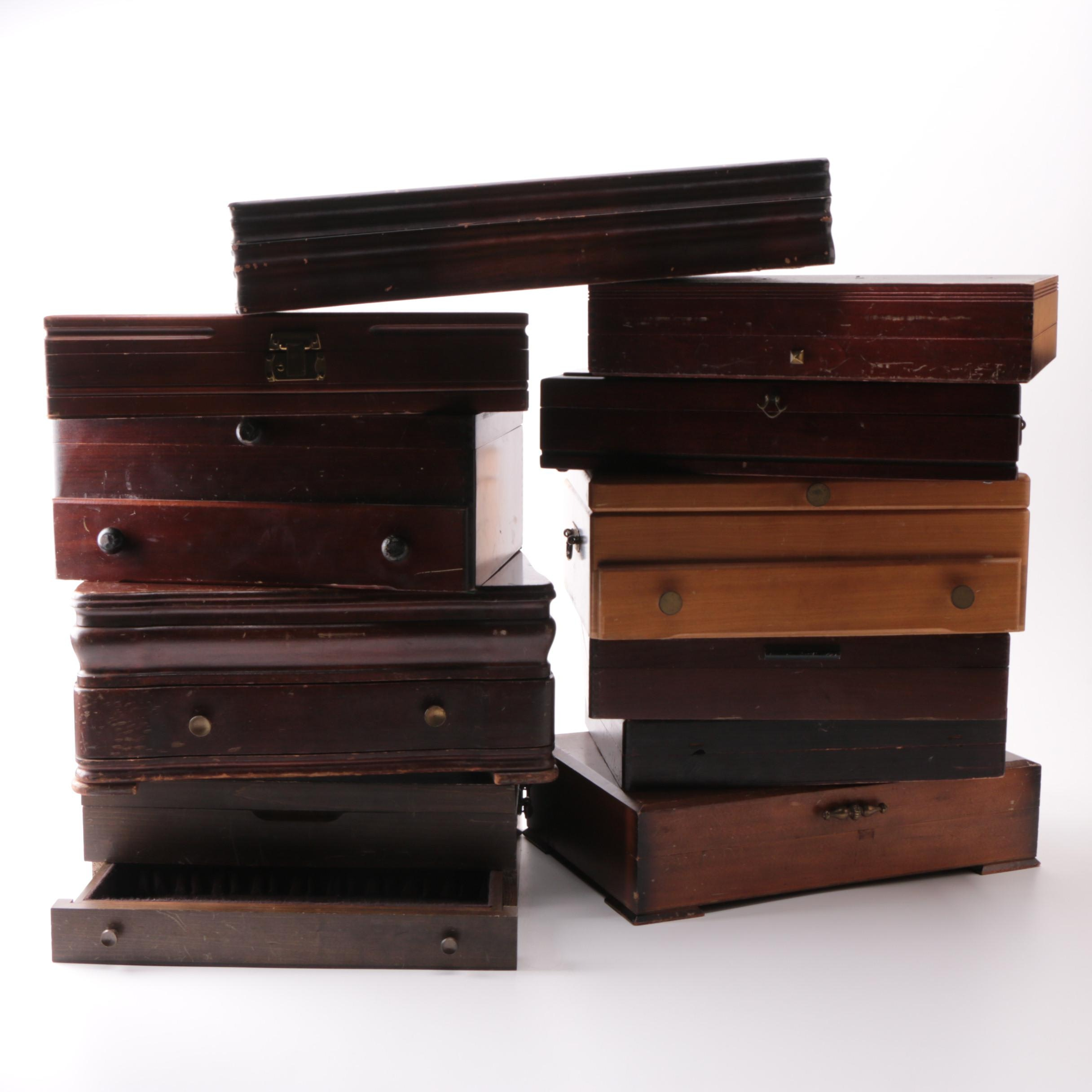 Naken's Flatware Chest and Other Flatware Chests