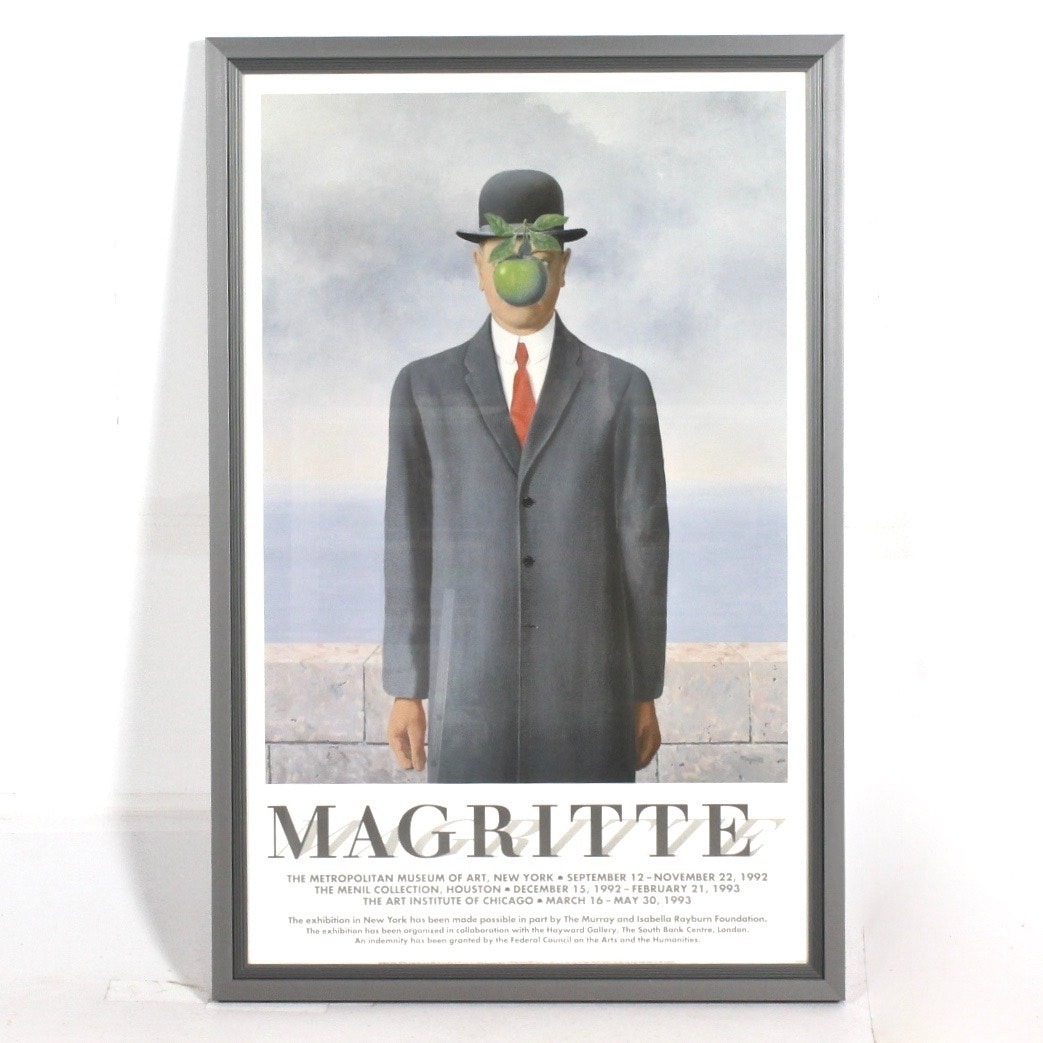 Rene Magritte Exhibition Poster