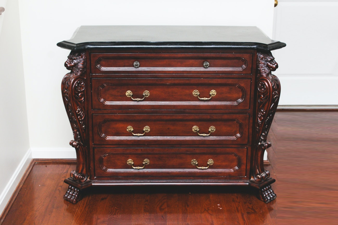 Bachelor's Chest with Lion Mask Accents