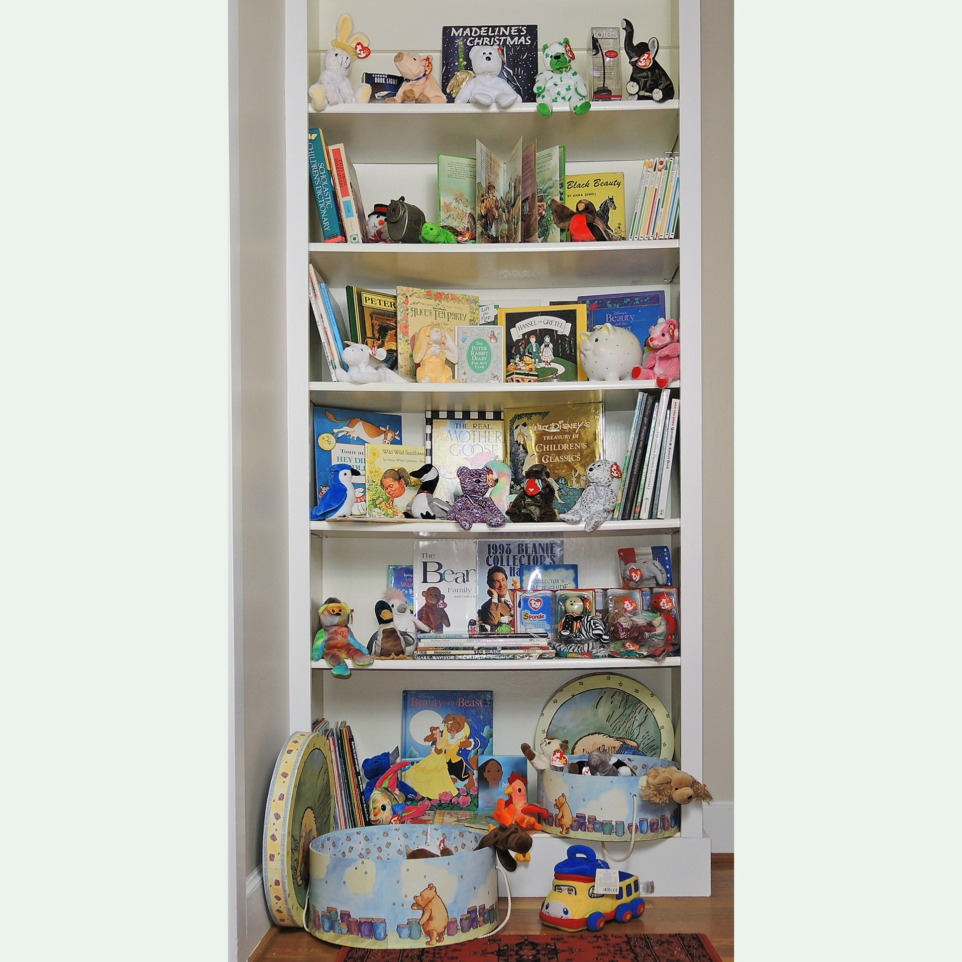 Children's Books and Beanie Babies Collection