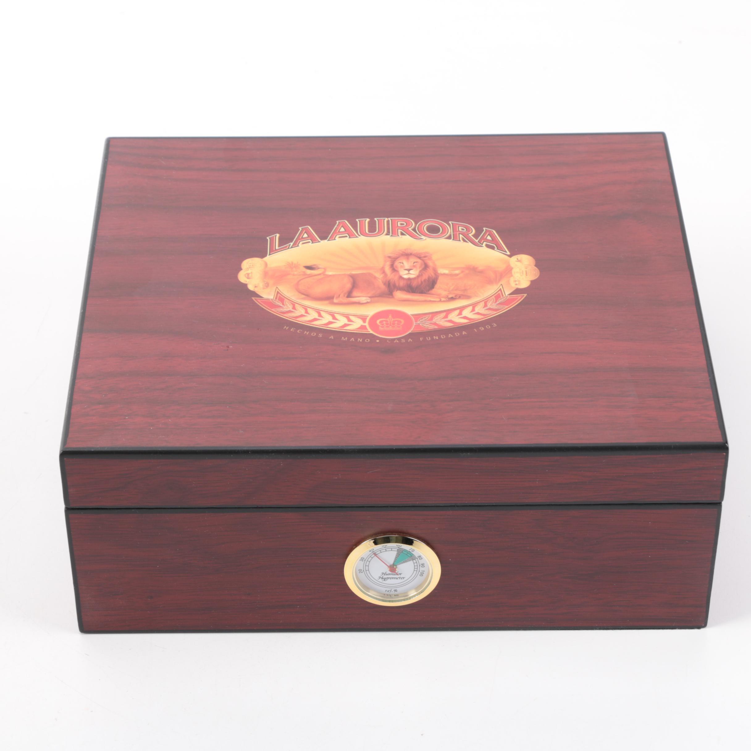 La Aurora Cigar Humidor