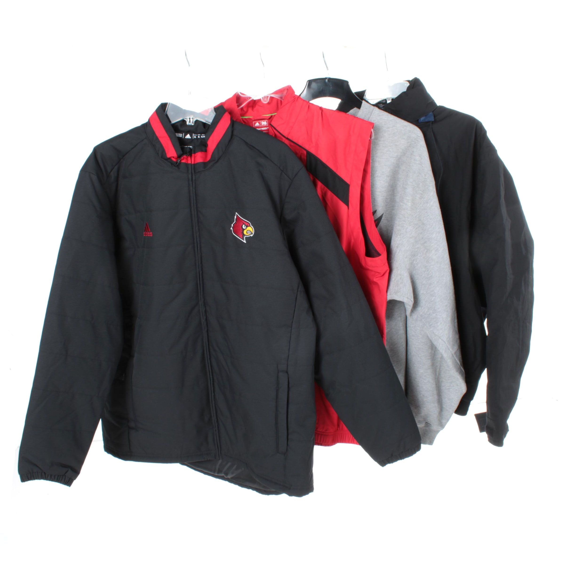Men's Outerwear Including Adidas