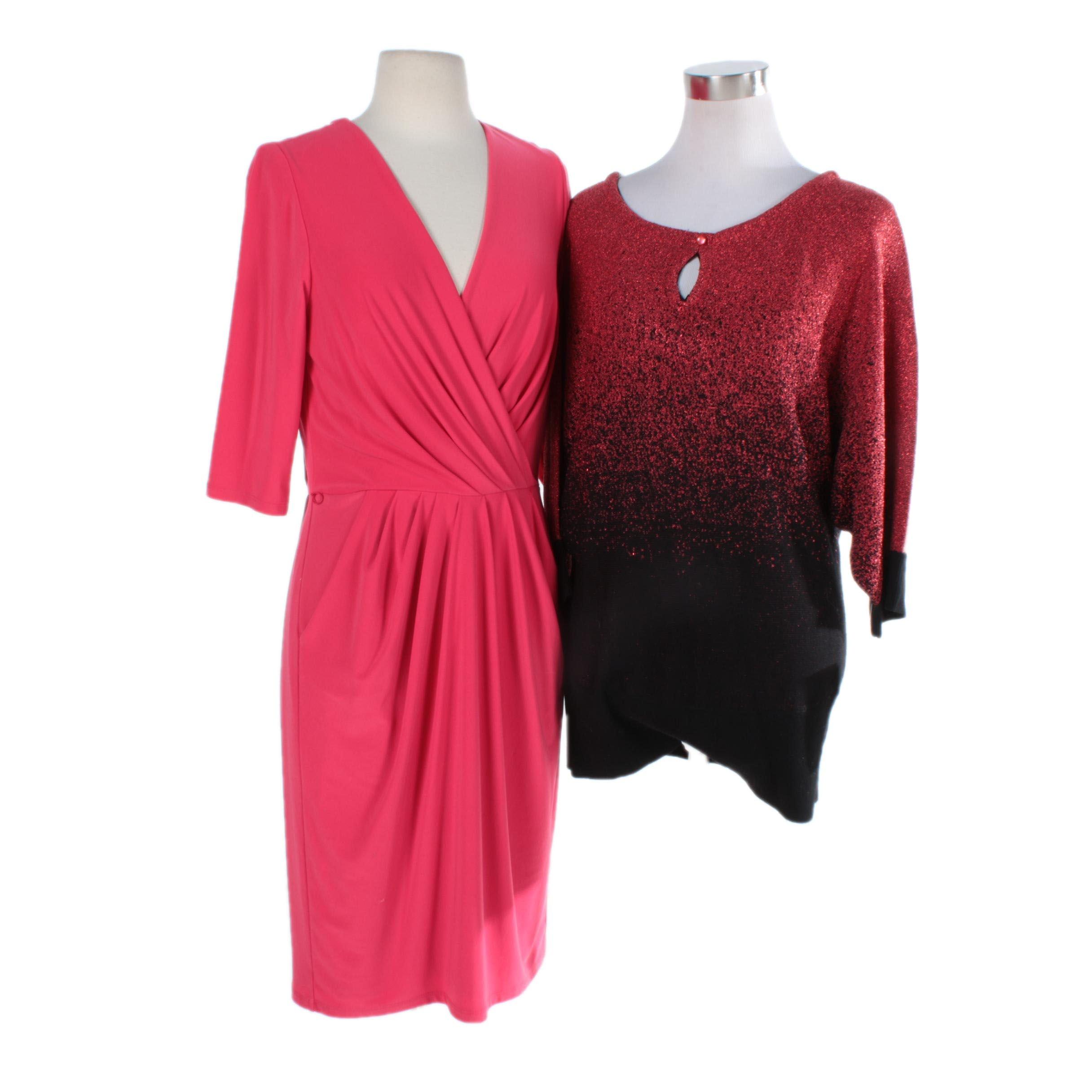 Lauren Ralph Lauren Dress and NY Collection Top
