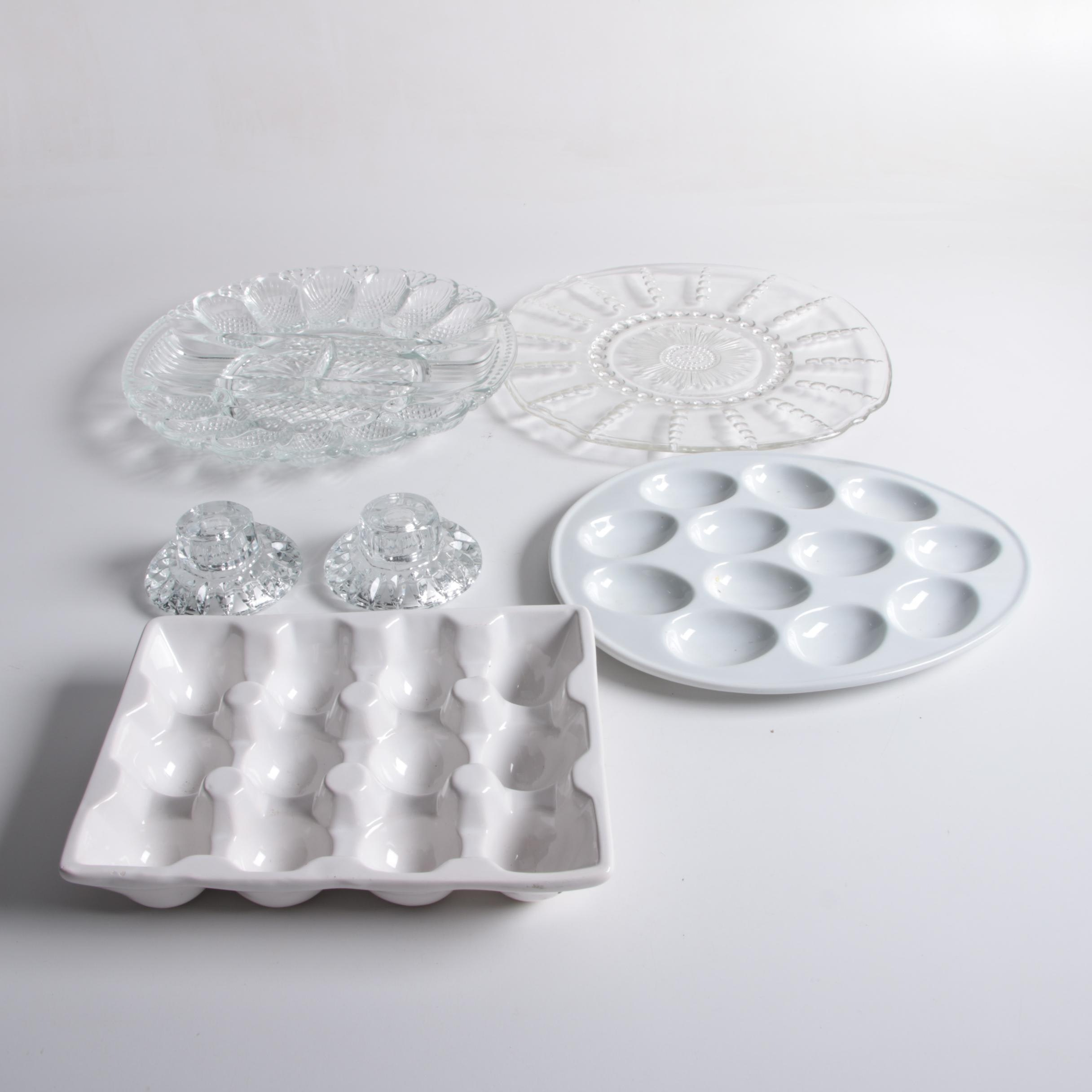 Glass and Ceramic Tableware and Decor
