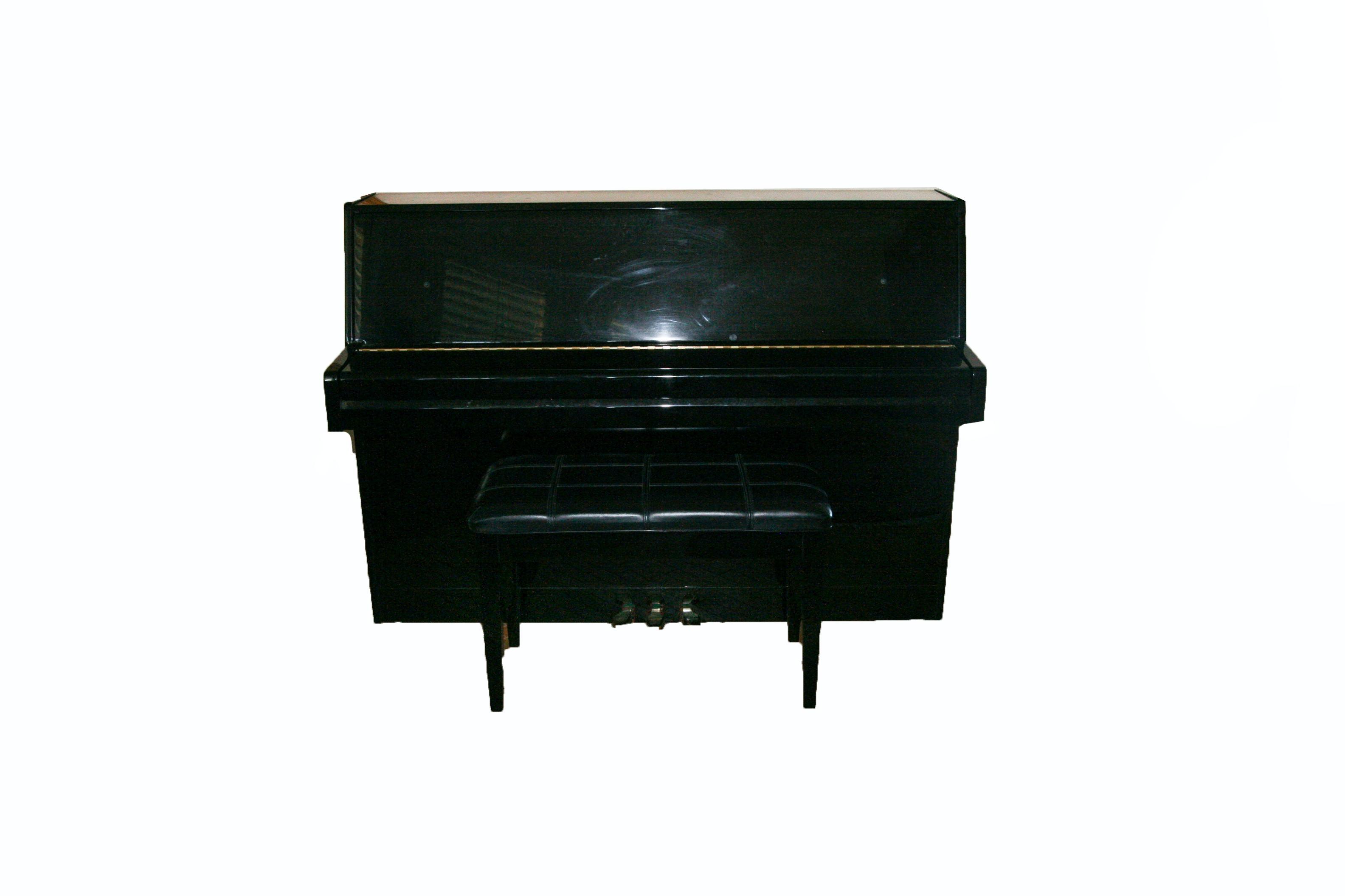 Bernhard Steiner Console Piano with Bench