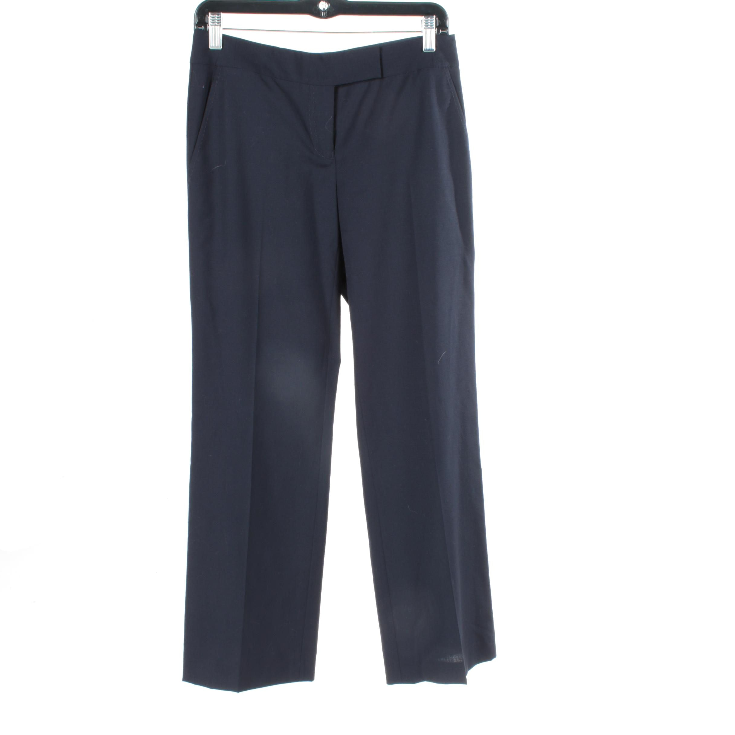 Women's Tory Burch Wool Blend Trousers