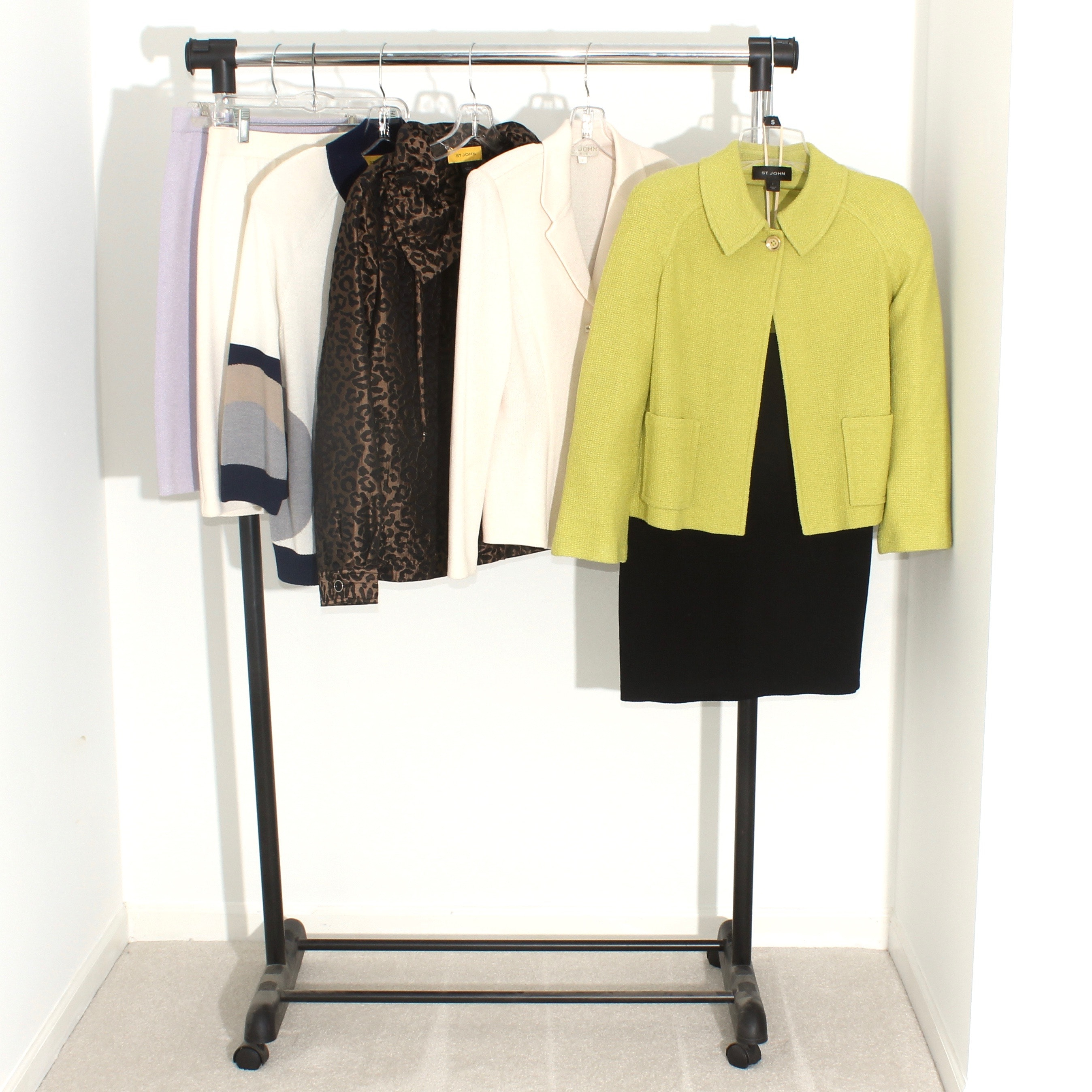 St. John Women's Outerwear Including Basics and Marie Gray