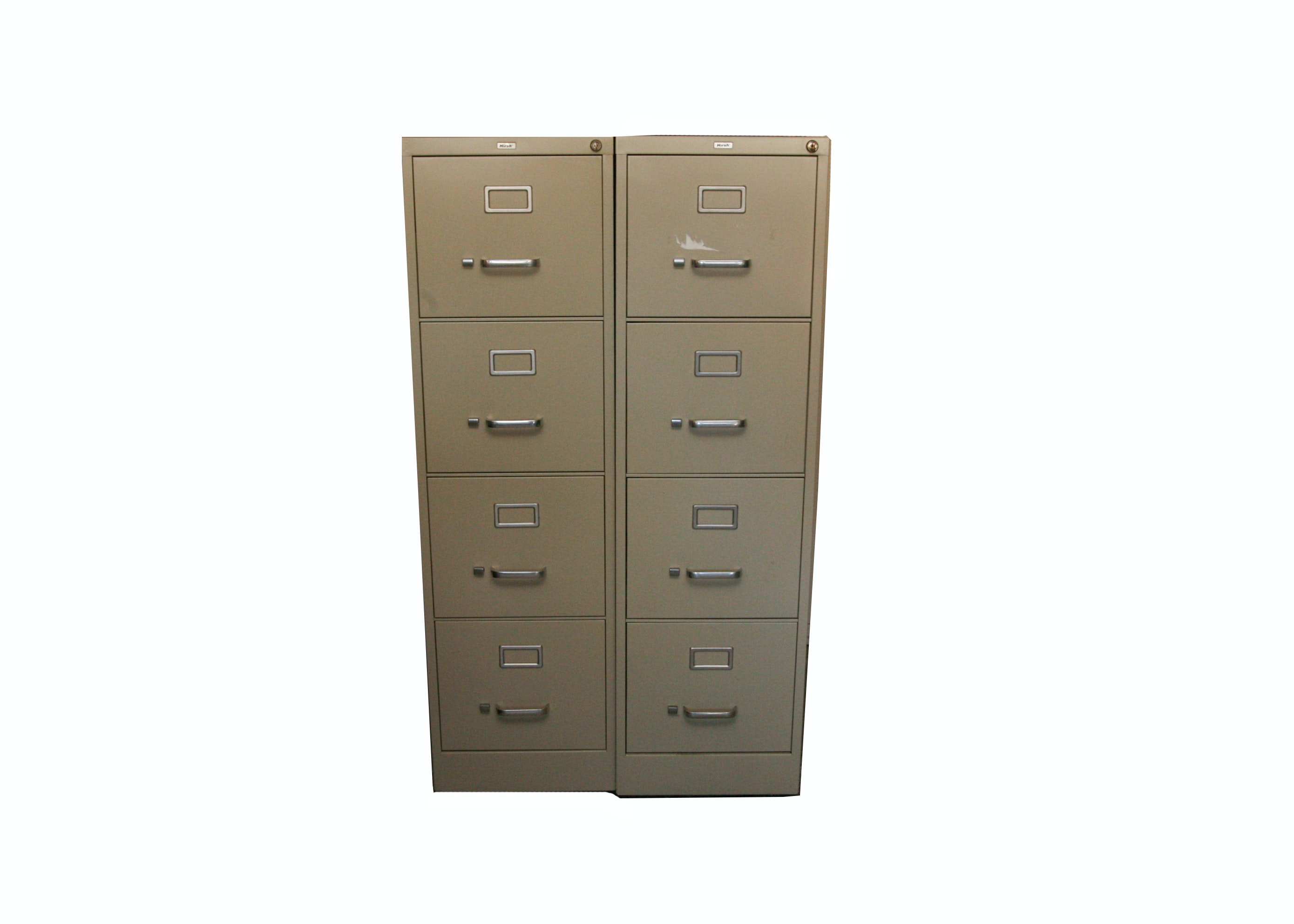 Hirsh Metal Filing Cabinets