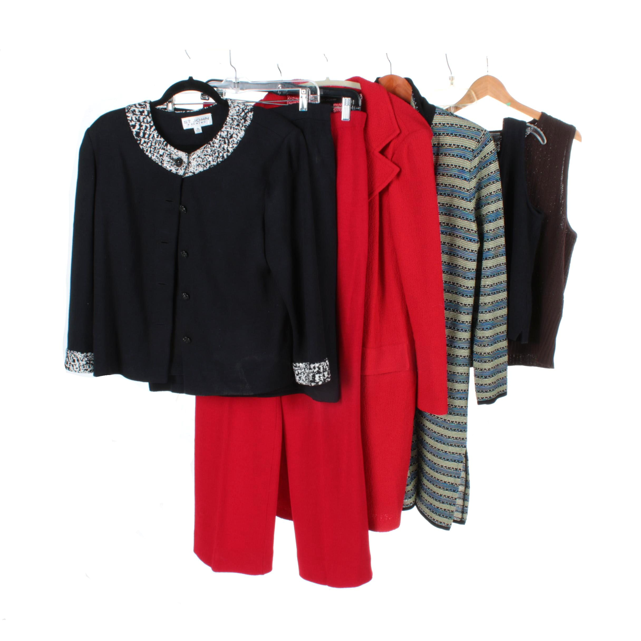 Assorted Women's Separates Including St. John