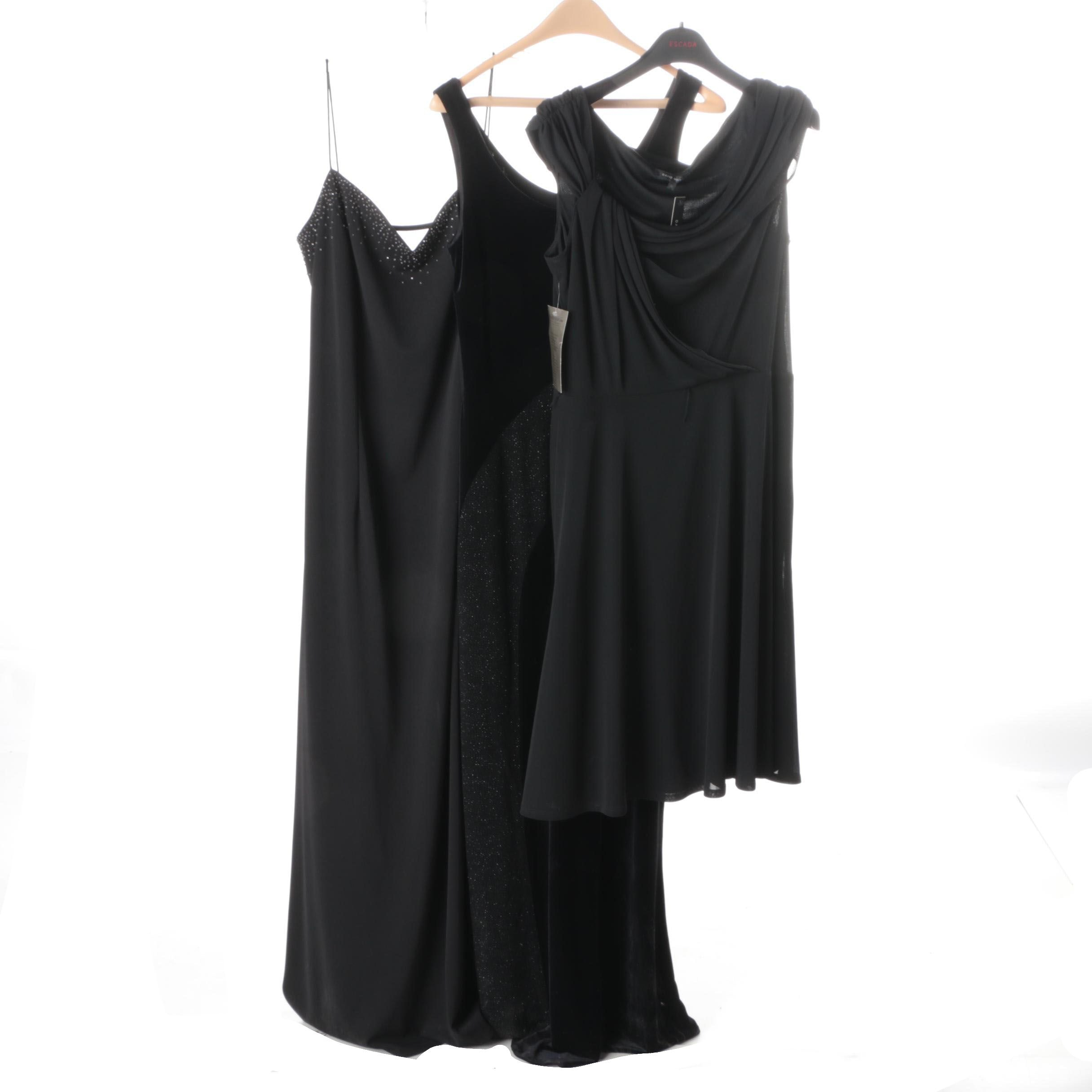 Women's Black Cocktail Dresses Including David Meister