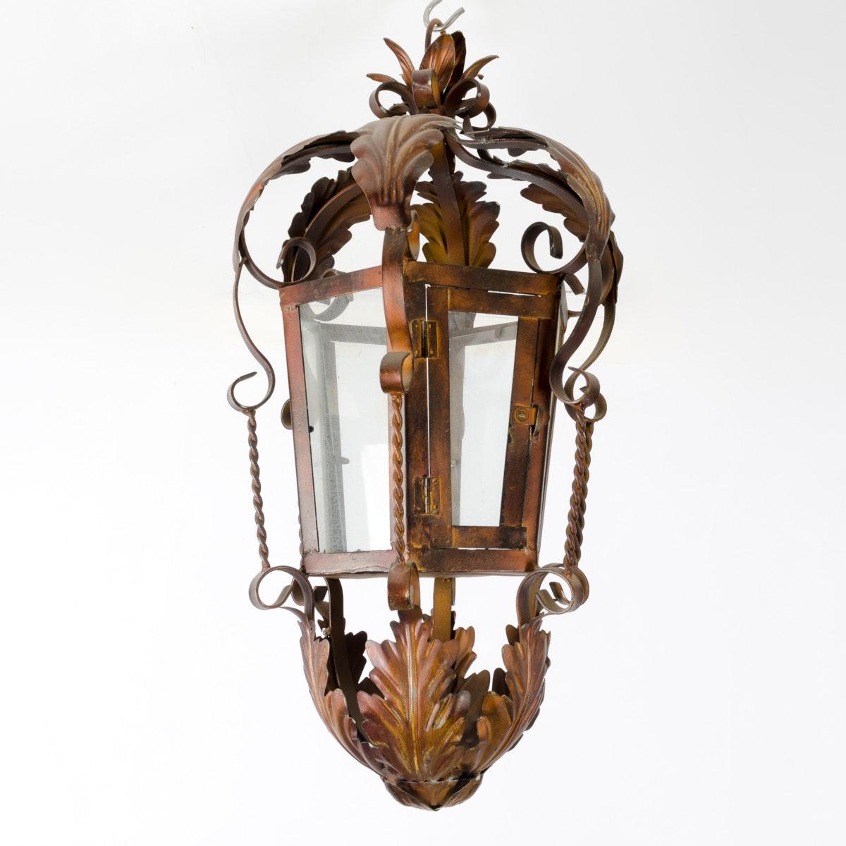 Hanging Decorative Metal Candle Lantern