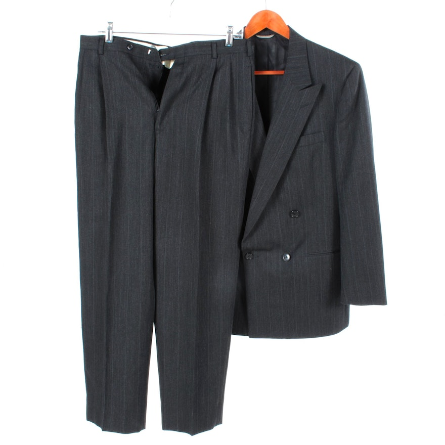 Men s Christian Dior Double-Breasted Wool Suit   EBTH 152d1cab4