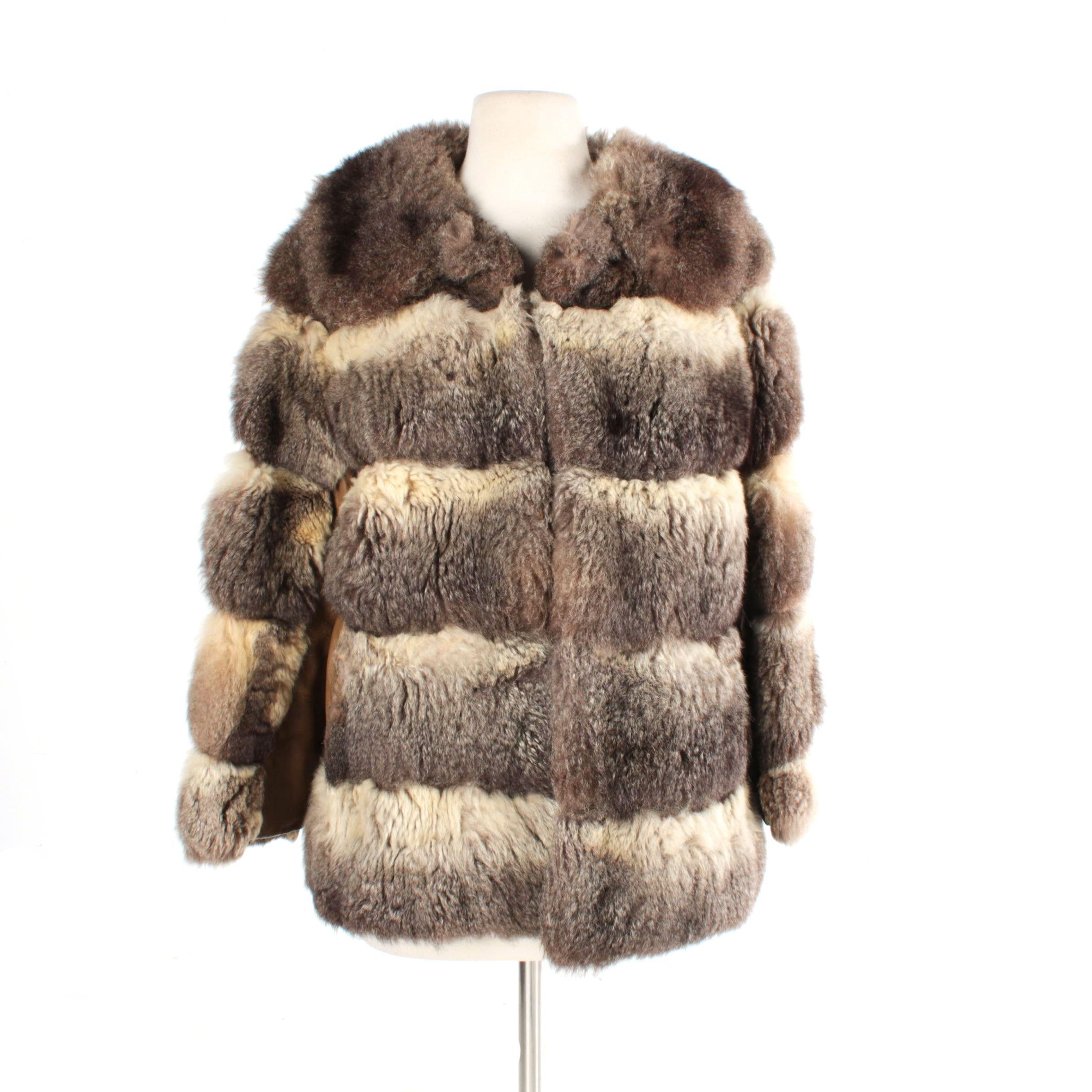 Women's Vintage Possum Fur Jacket