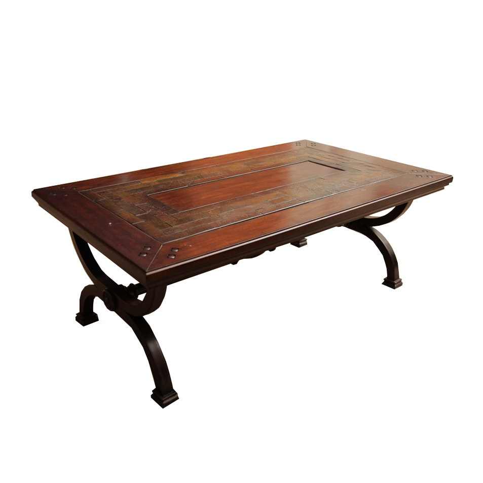 Contemporary Tile Top Coffee Table